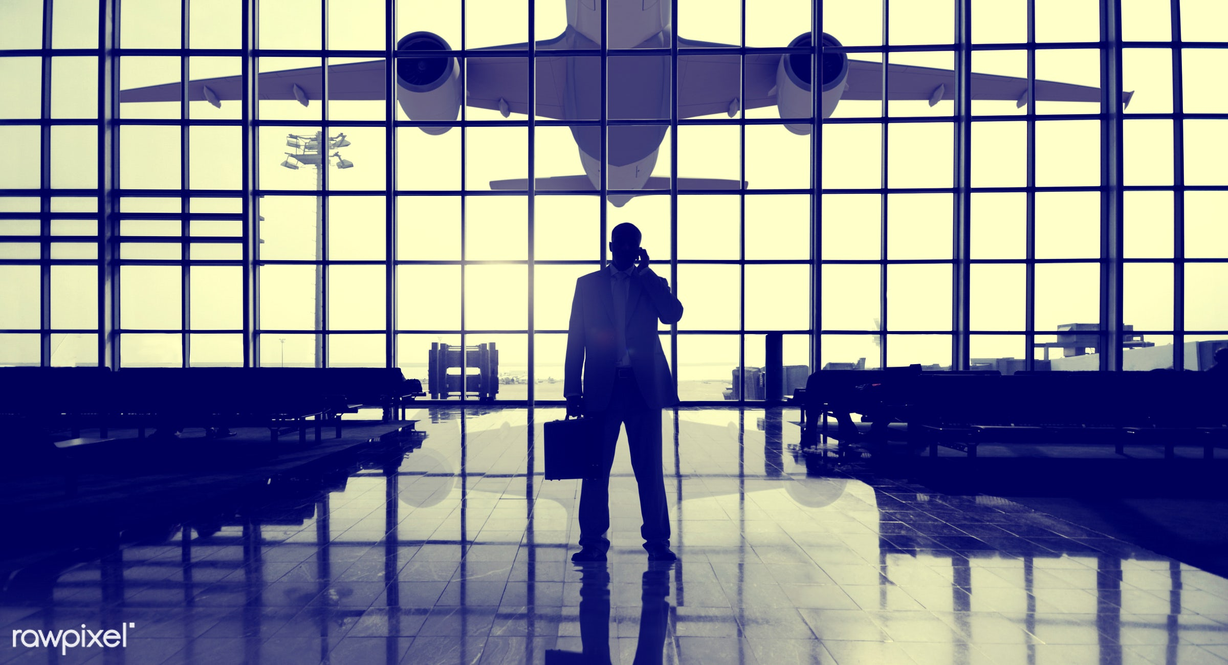 contemporary, airplane, airport, airport lounge, alone, architecture, boarding gate, briefcase, built structure, business,...