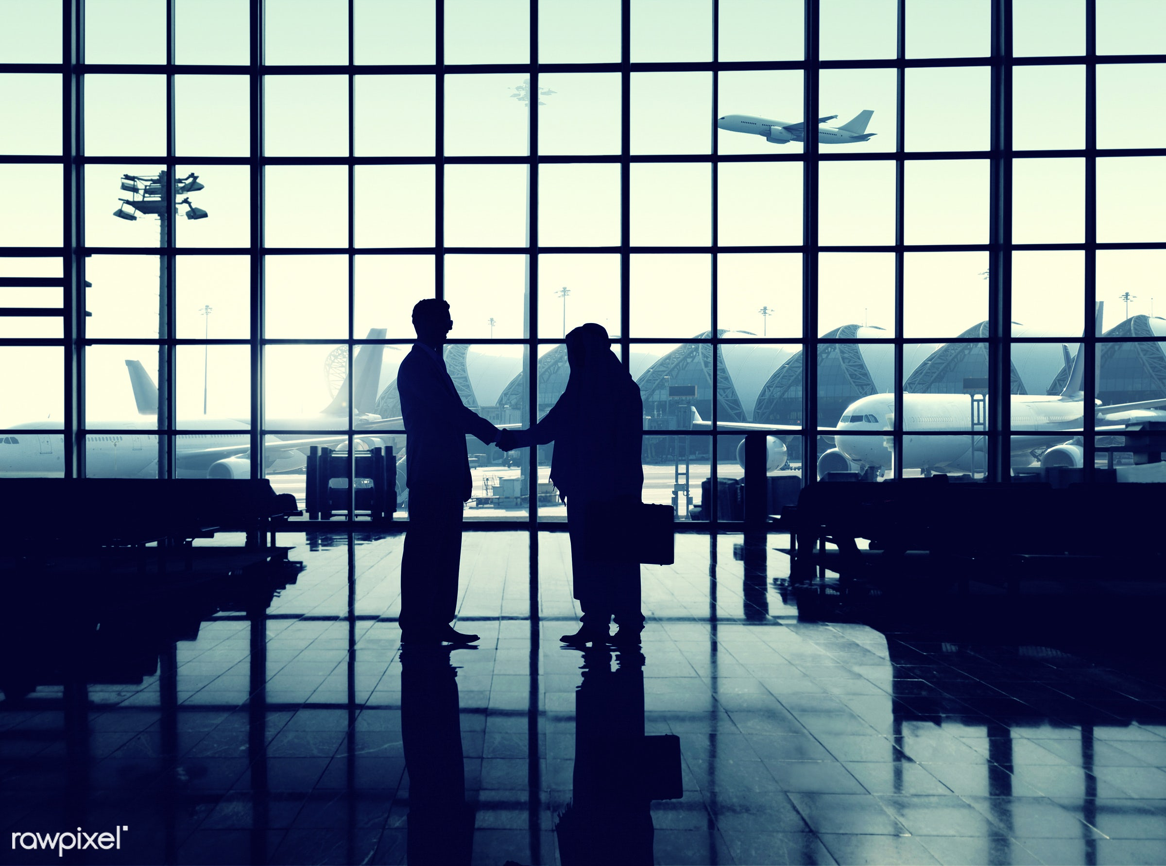 agreement, airplane, airport, airport lounge, architecture, baggage, briefcase, building, business, business people,...