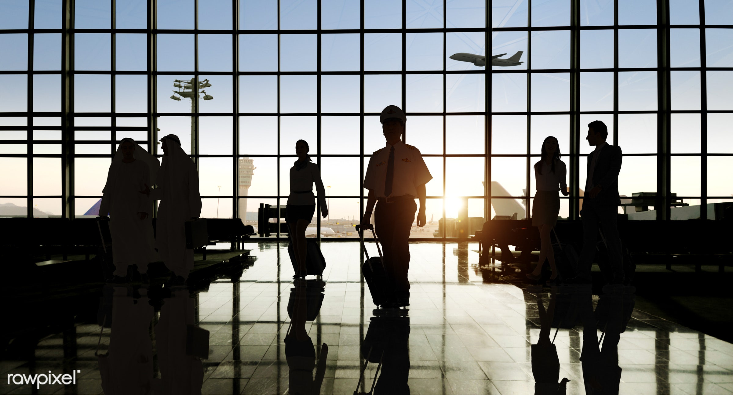 airplane, airport, back lit, building, business, business people, business travel, businessmen, businesswomen, city,...