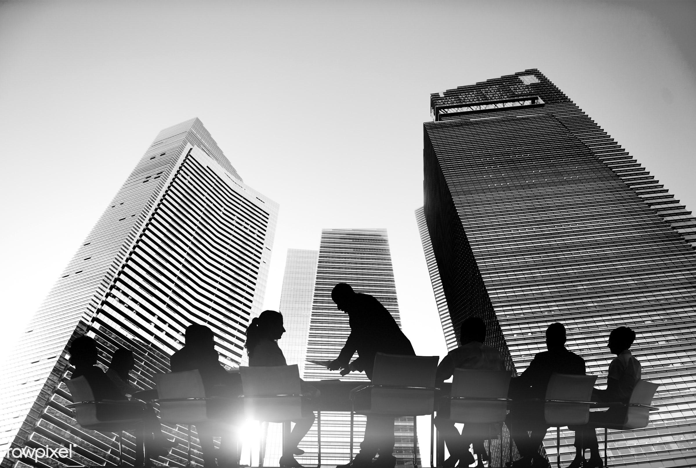 backlit, board room, brainstorming, buildings, business, business communication, business meeting, business people, business...