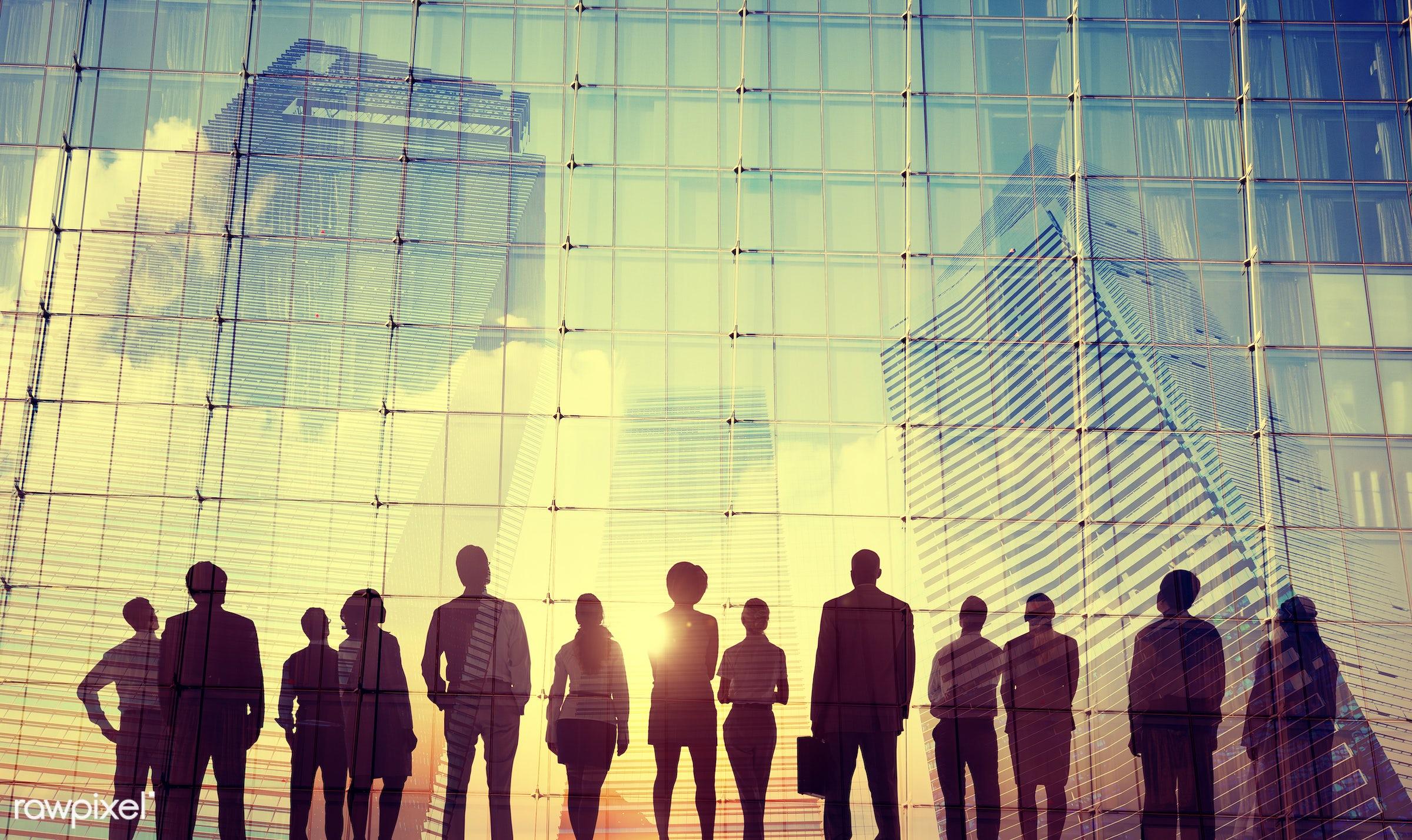 aspirations, back lit, building, business, business people, businessmen, businesswomen, city, city life, cityscape,...
