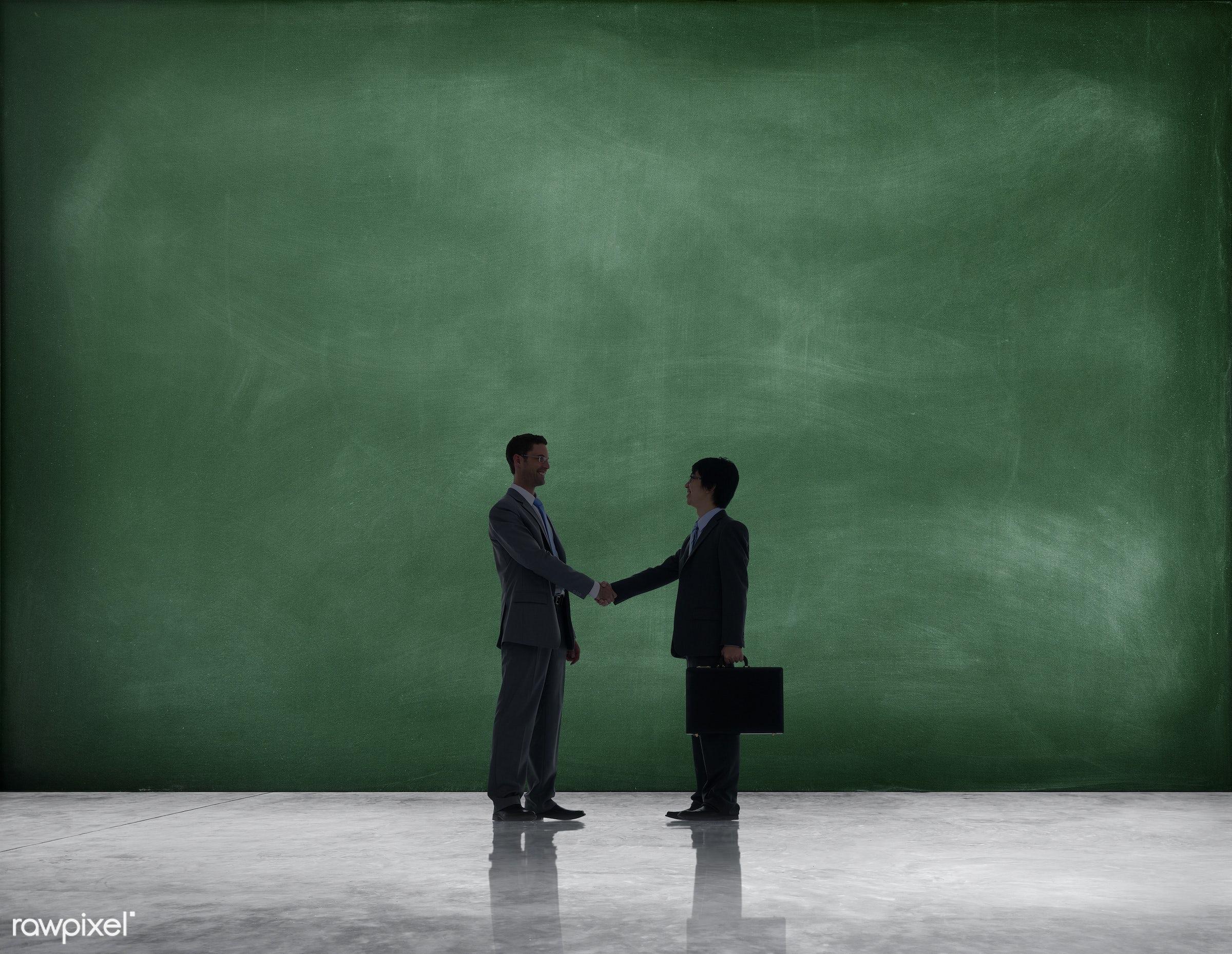 congratulating, acknowledge, agreement, approval, back lit, backgrounds, backlit, blackboard, business deal, business...