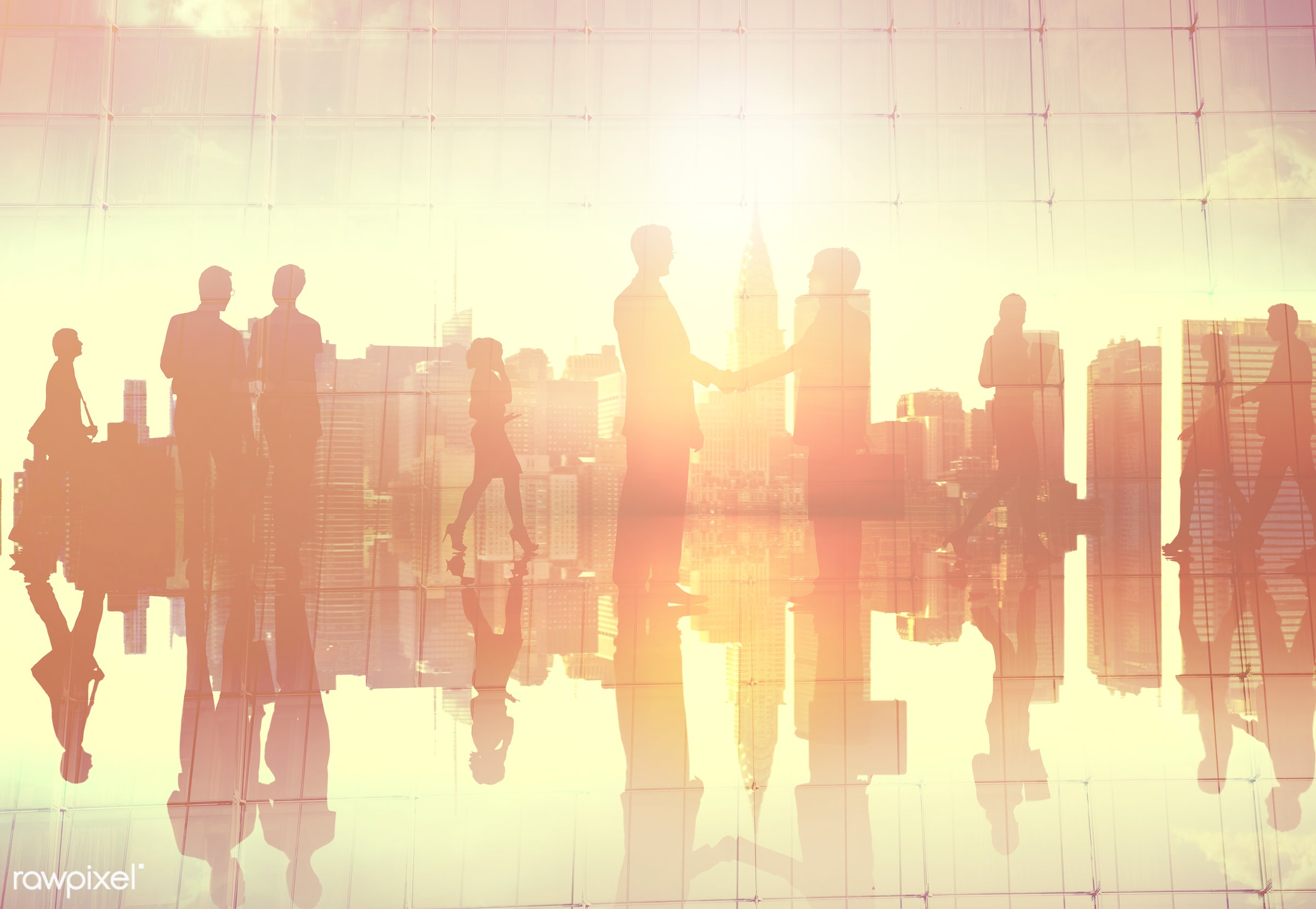 back lit, building, business, business people, businessmen, businesswomen, city, cityscape, colleague, communication,...
