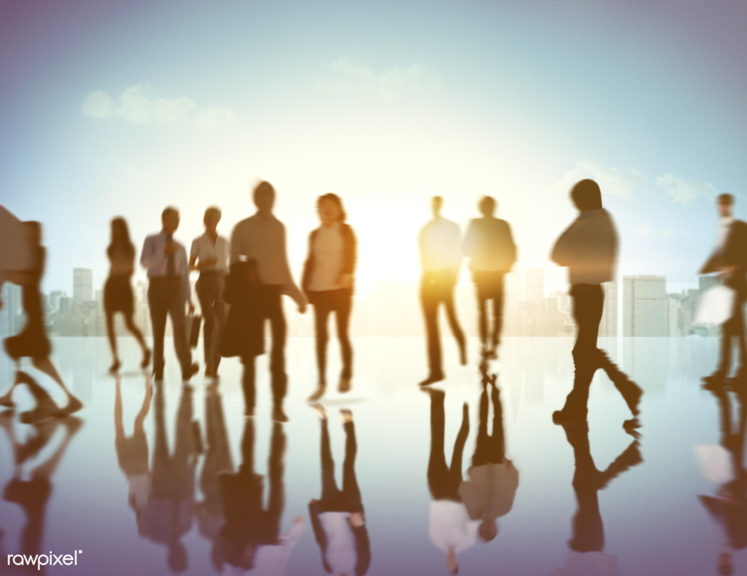 advice, back lit, brainstorming, buildings, business, business people, businessmen, businesswomen, city, cityscape, cloud,...