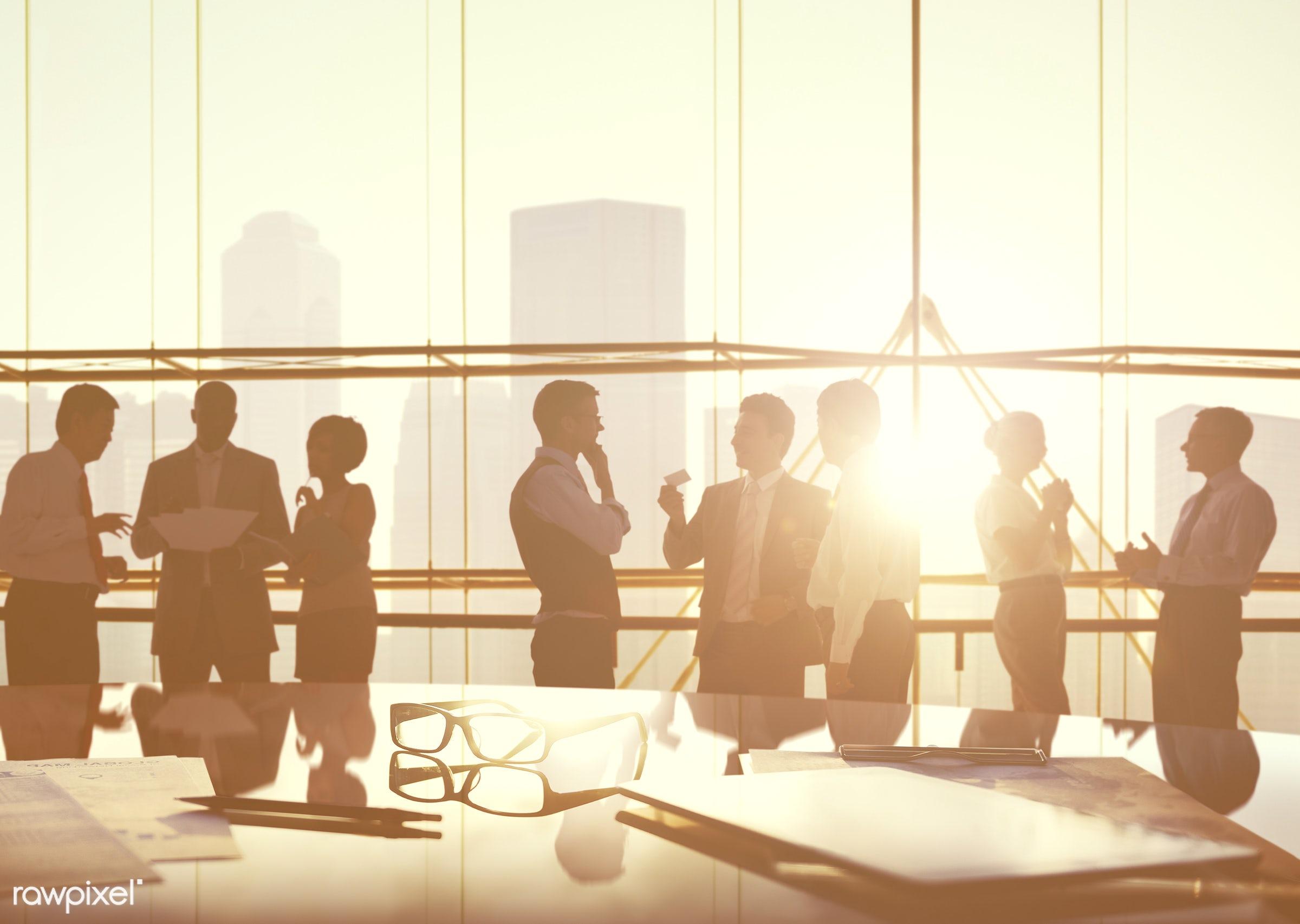 advice, back lit, board room, brainstorming, buildings, business, business people, businessmen, businesswomen, city,...