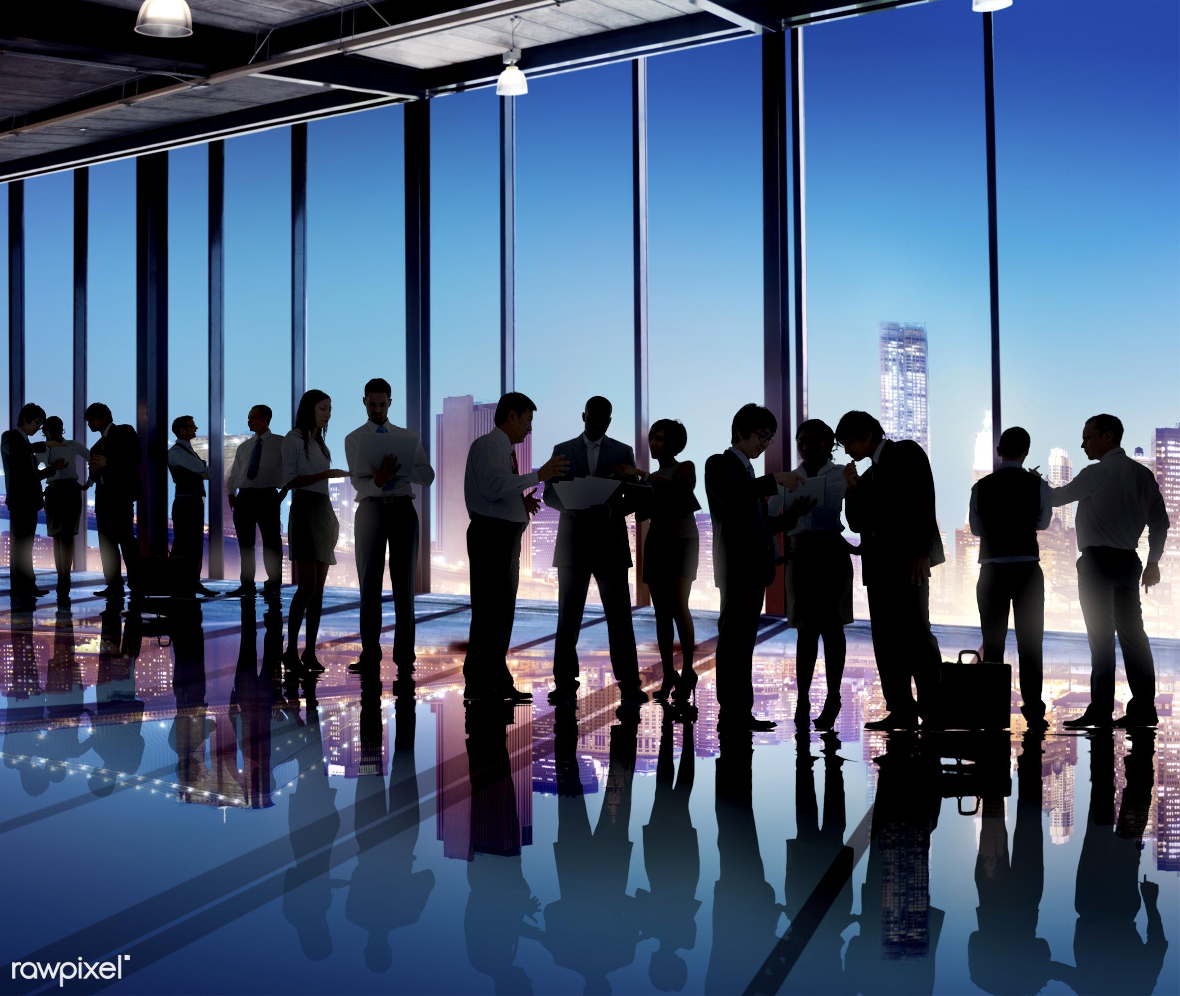 contemporary, back lit, brainstorming, building, business, business people, business person, businessman, businesswoman,...