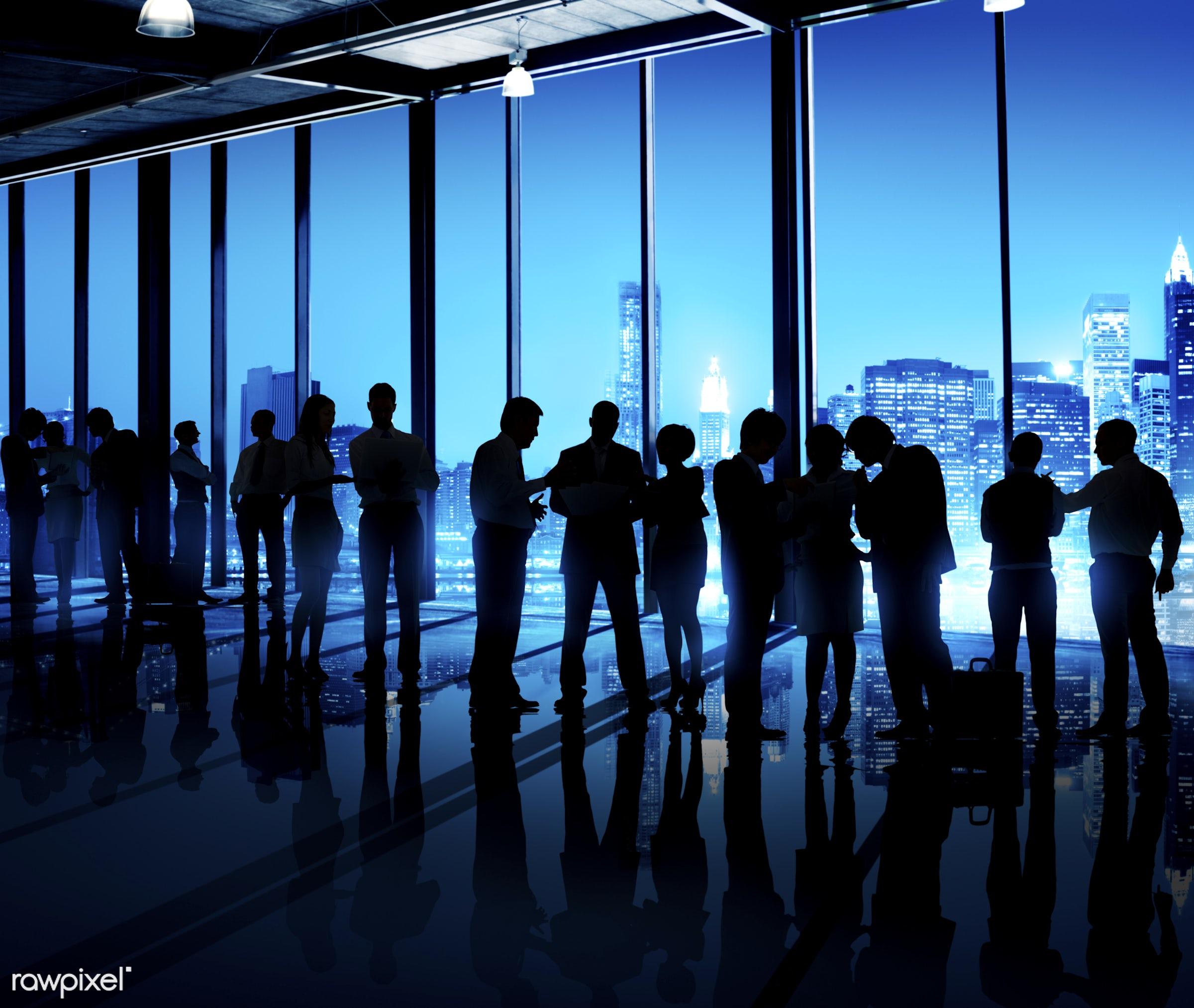 african, african descent, asian, asian descent, backlit, brainstorming, building, business, business people, businessmen,...