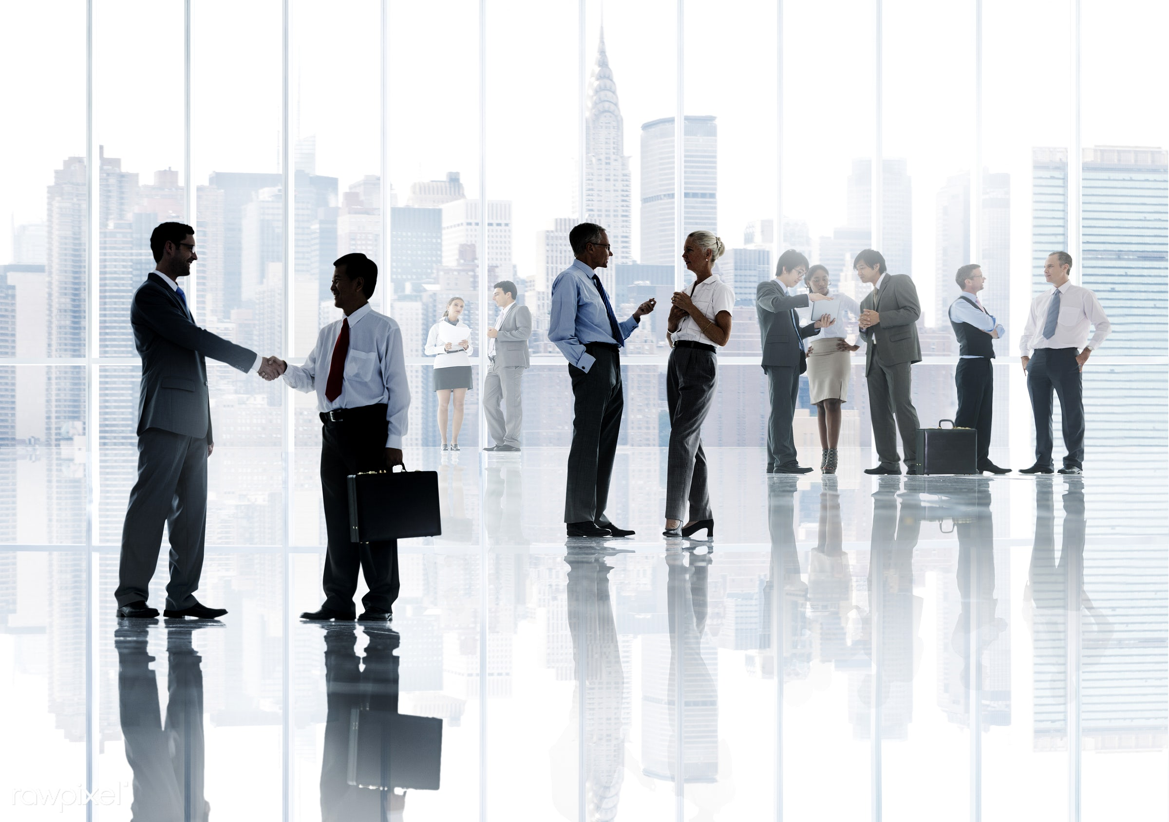 african ethnicity, asian ethnicity, brainstorming, building, business, business people, businessmen, businesswomen, city,...