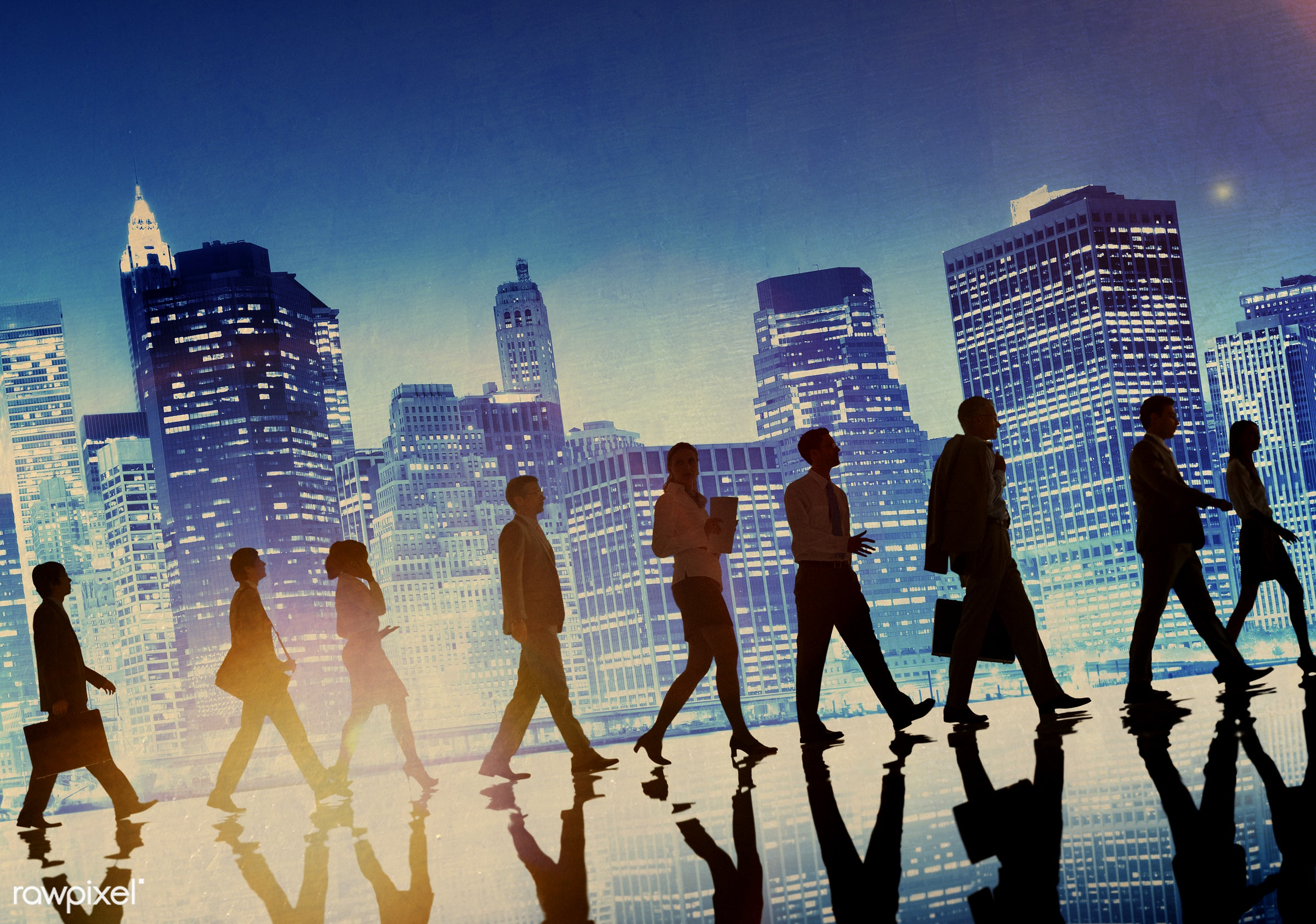 adult, briefcase, buildings, business, business people, businessmen, businesswomen, busy, cityscape, colleagues,...