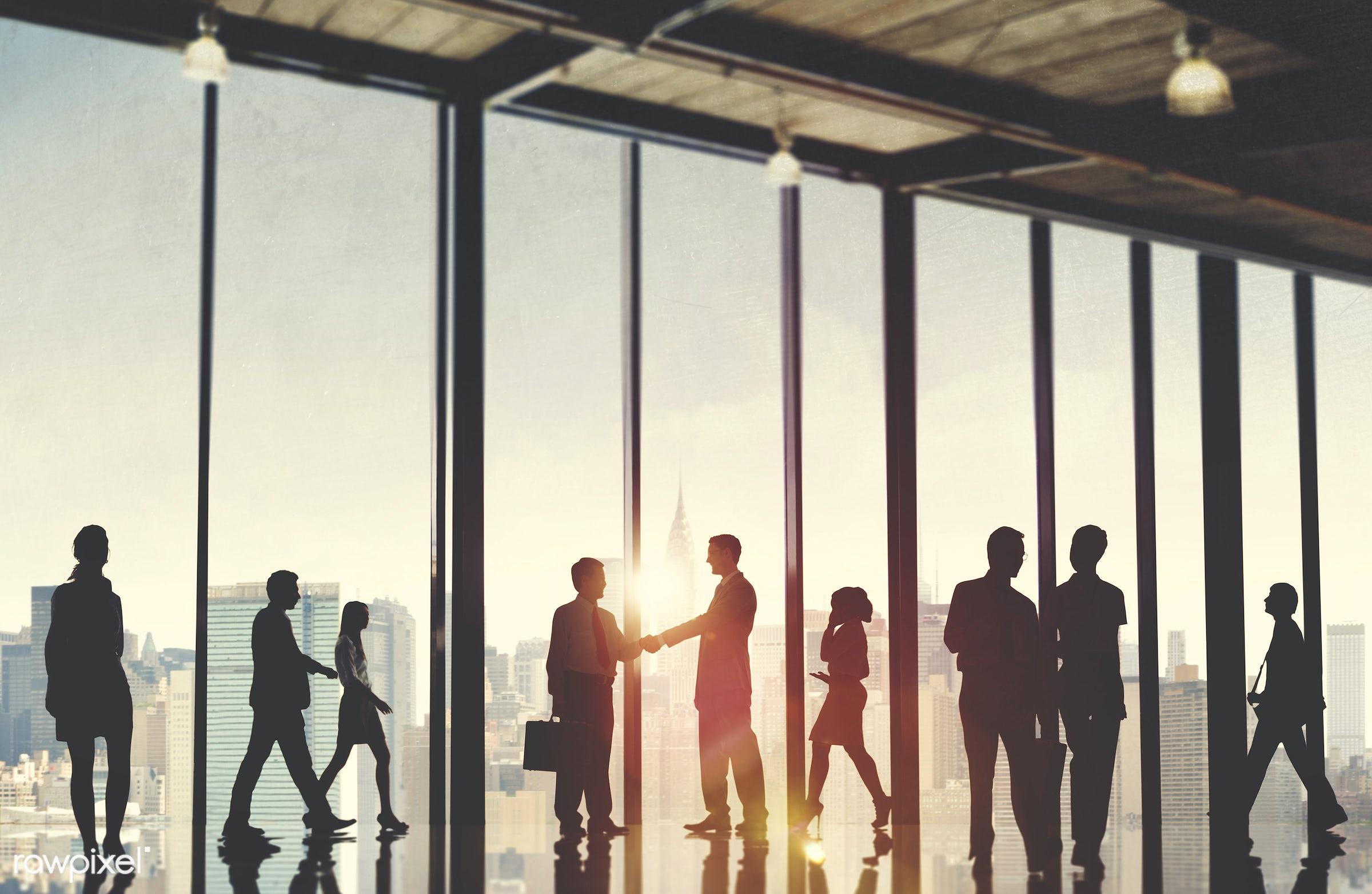 asian ethnicity, back lit, brainstorming, building, business, business people, businessmen, businesswomen, city, cityscape,...