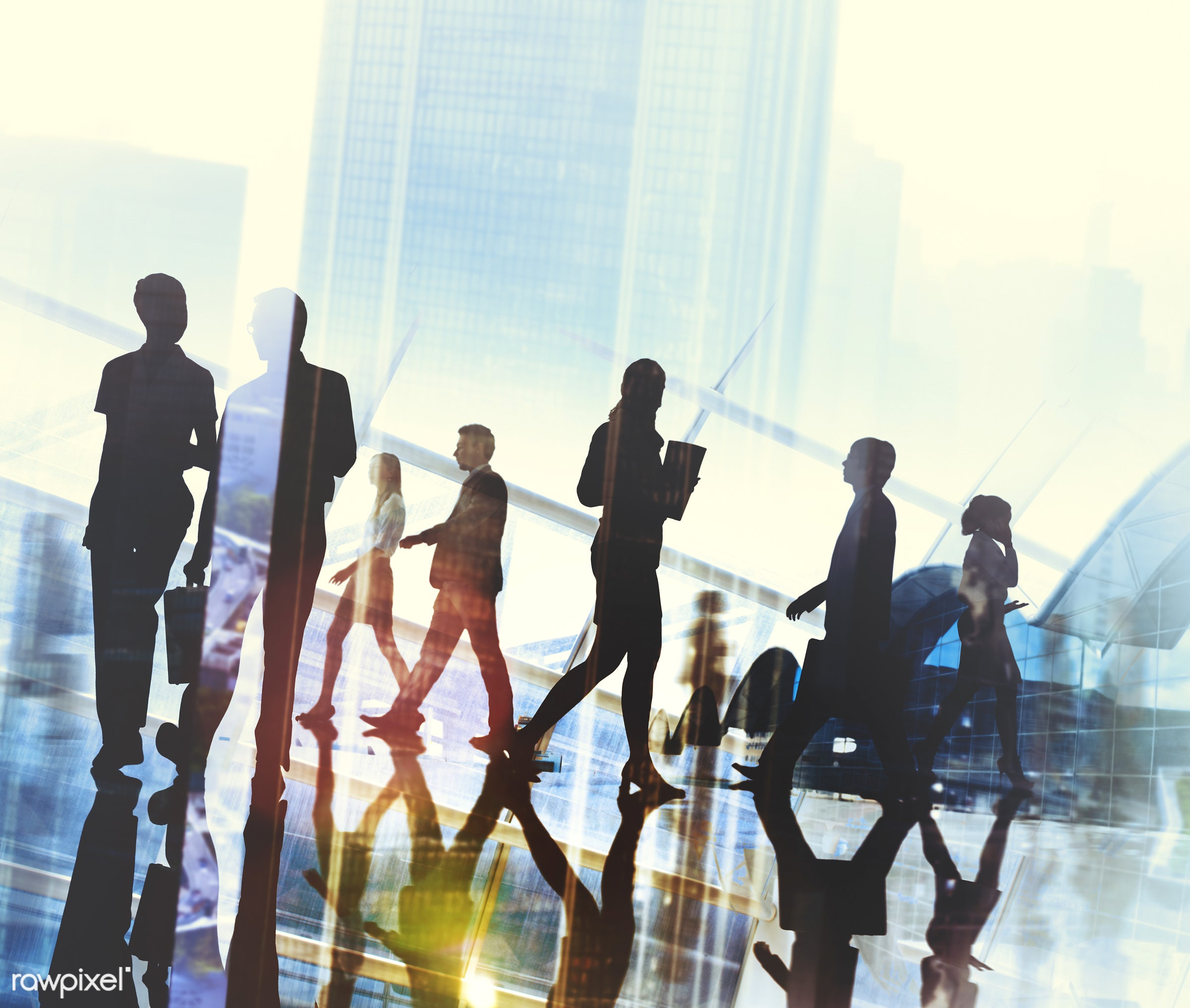 abstract, administration, african descent, asian ethnicity, back lit, building, business, business people, businessmen,...