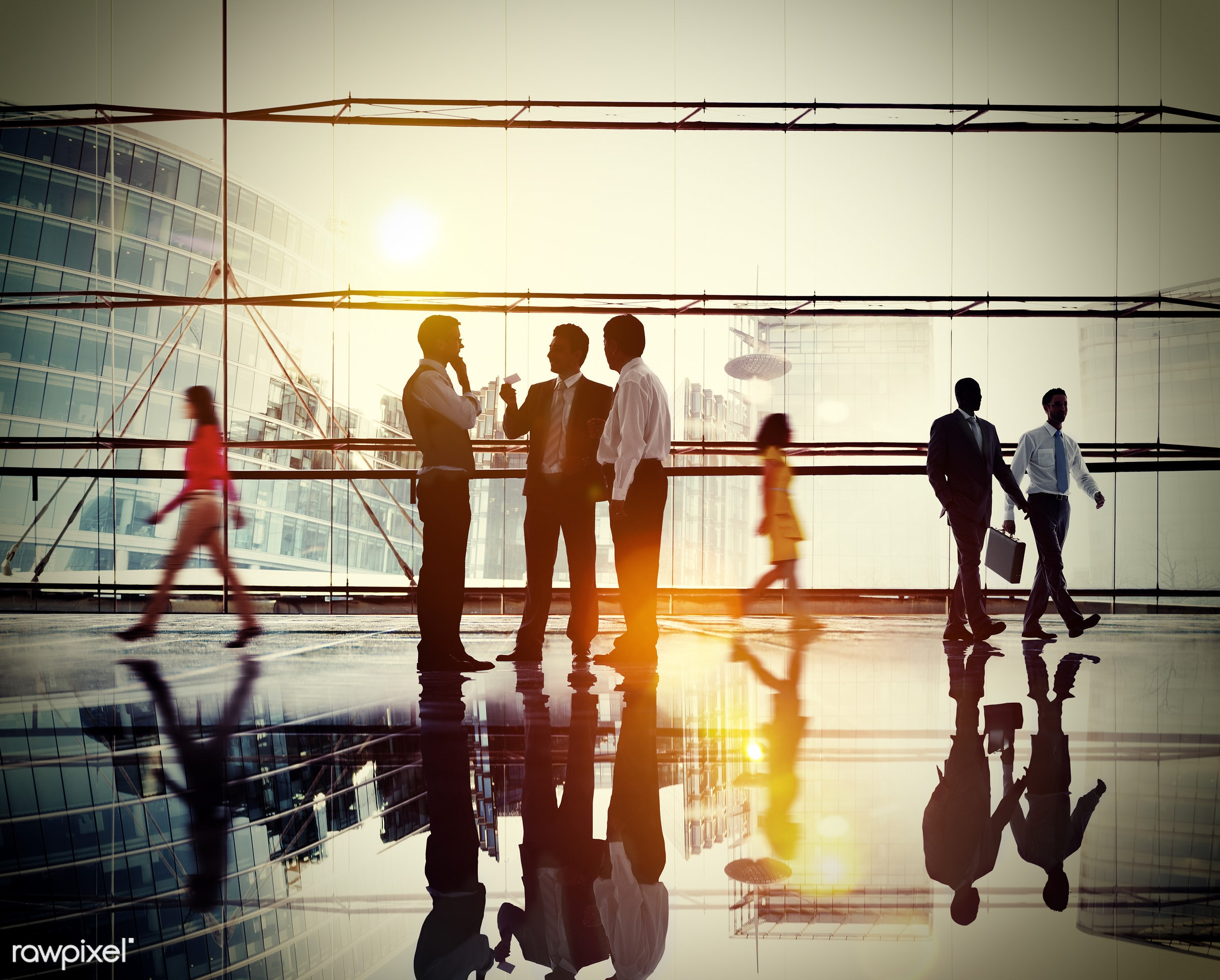 Dusk, brainstorming, building, business, business people, businessmen, businesswomen, busy, city, cityscape, colleague,...
