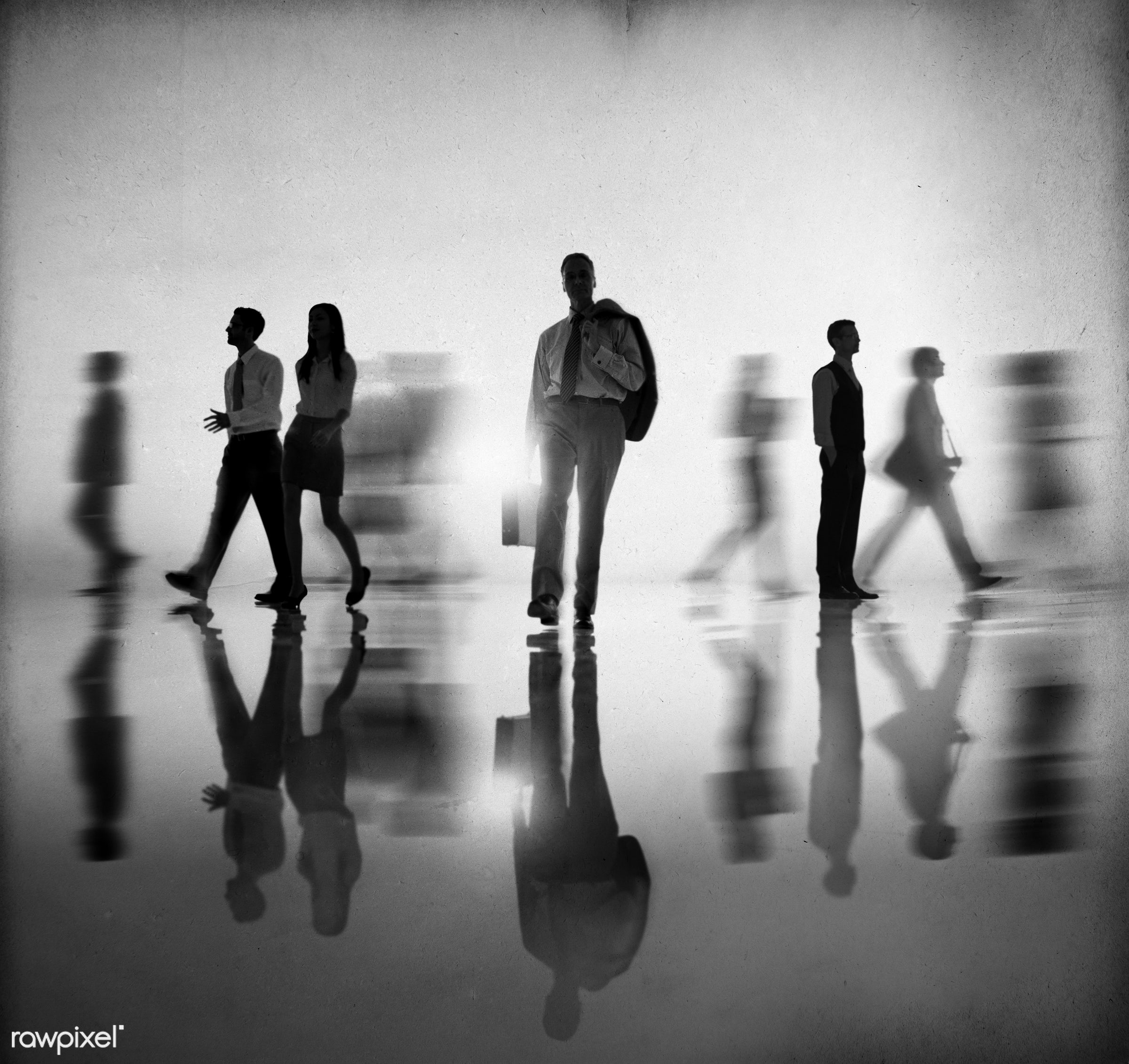 contemporary, action, adult, associate, back lit, blurred, blurred motion, business, business people, businessmen,...