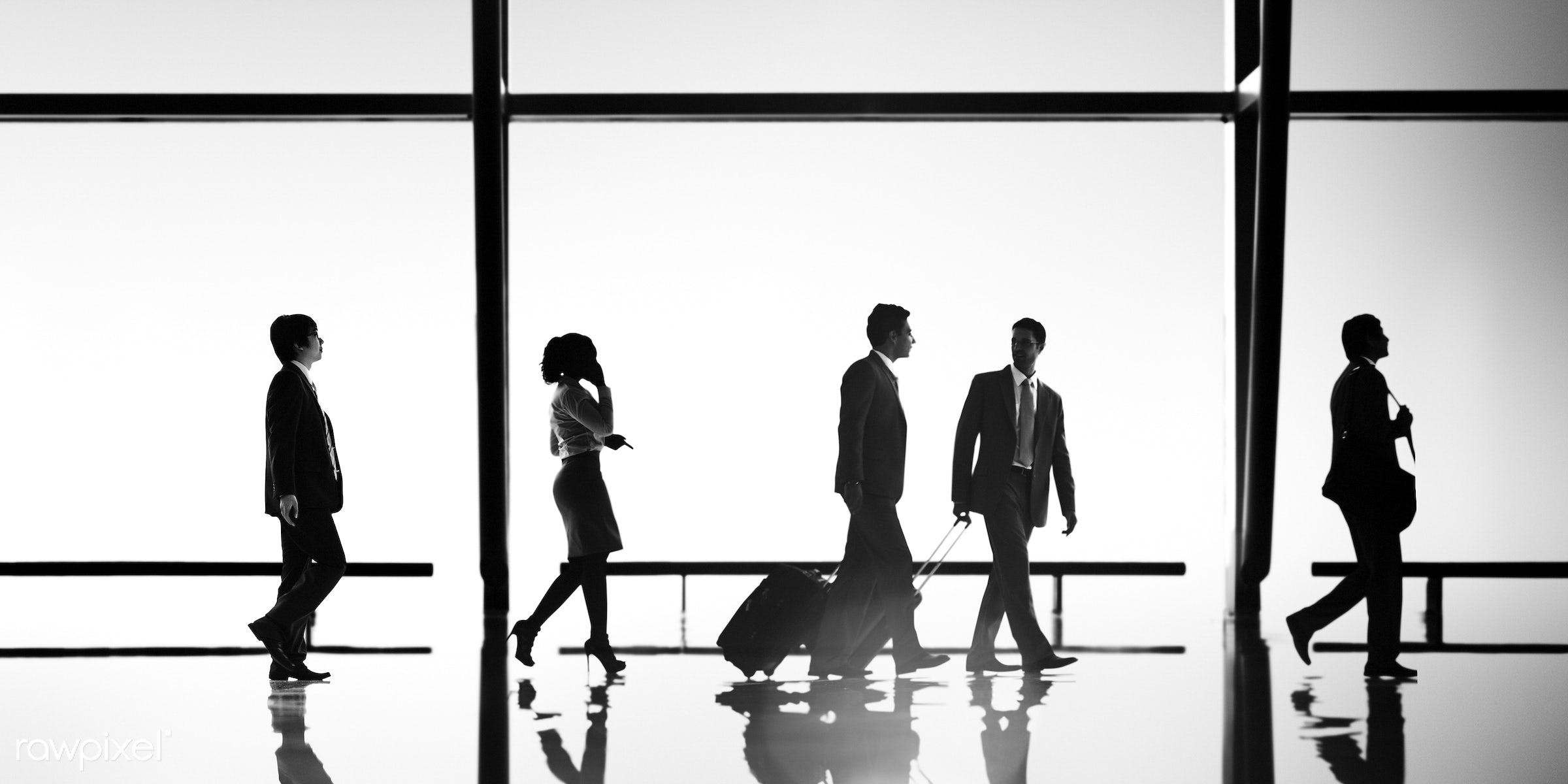back lit, business, business people, business travel, businessmen, businesswomen, calling, colleagues, communication,...