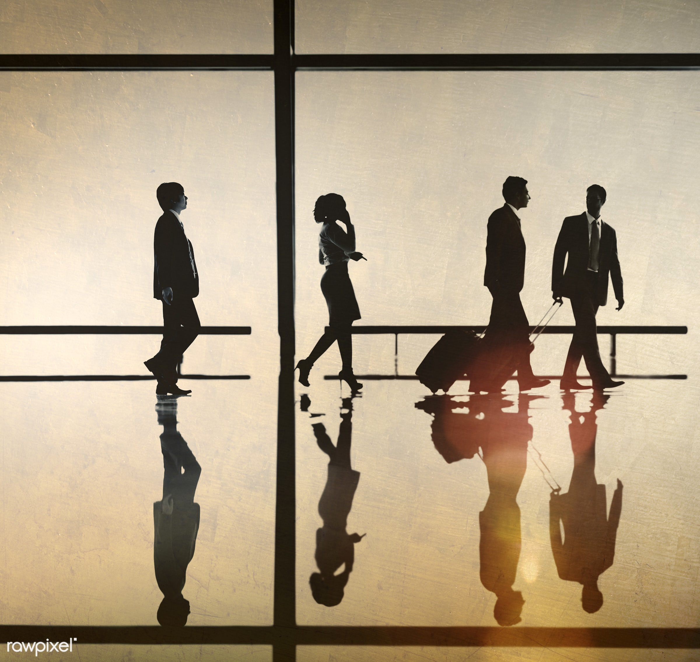 airport, backlit, business, business people, business travel, businessmen, businesswomen, calling, colleagues, communication...