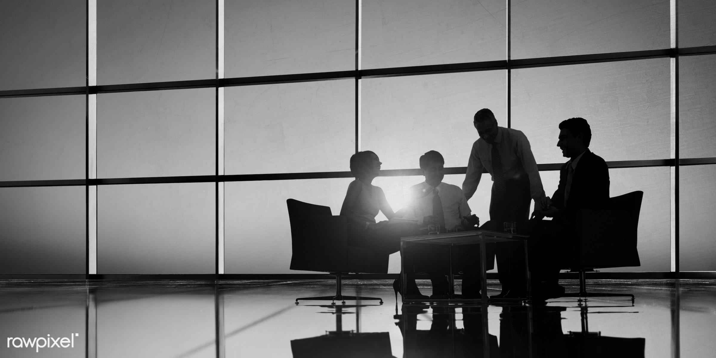 achievement, adult, back lit, board room, brainstorming, business, business people, businessmen, businesswomen, colleagues,...