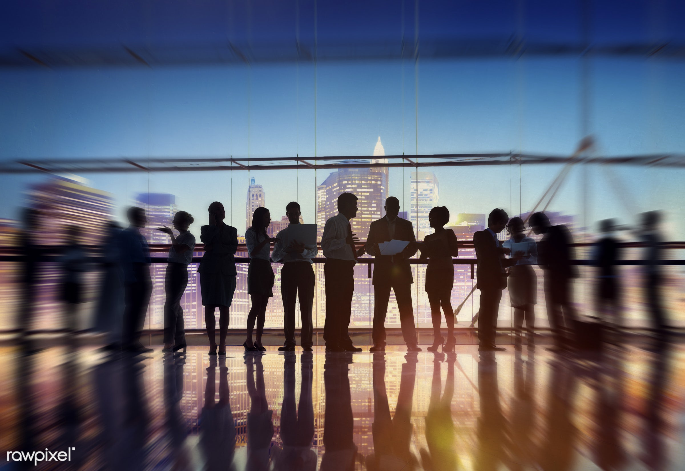 abstract, back lit, blurred motion, brainstorming, building, business, business people, businessmen, businesswomen, city,...