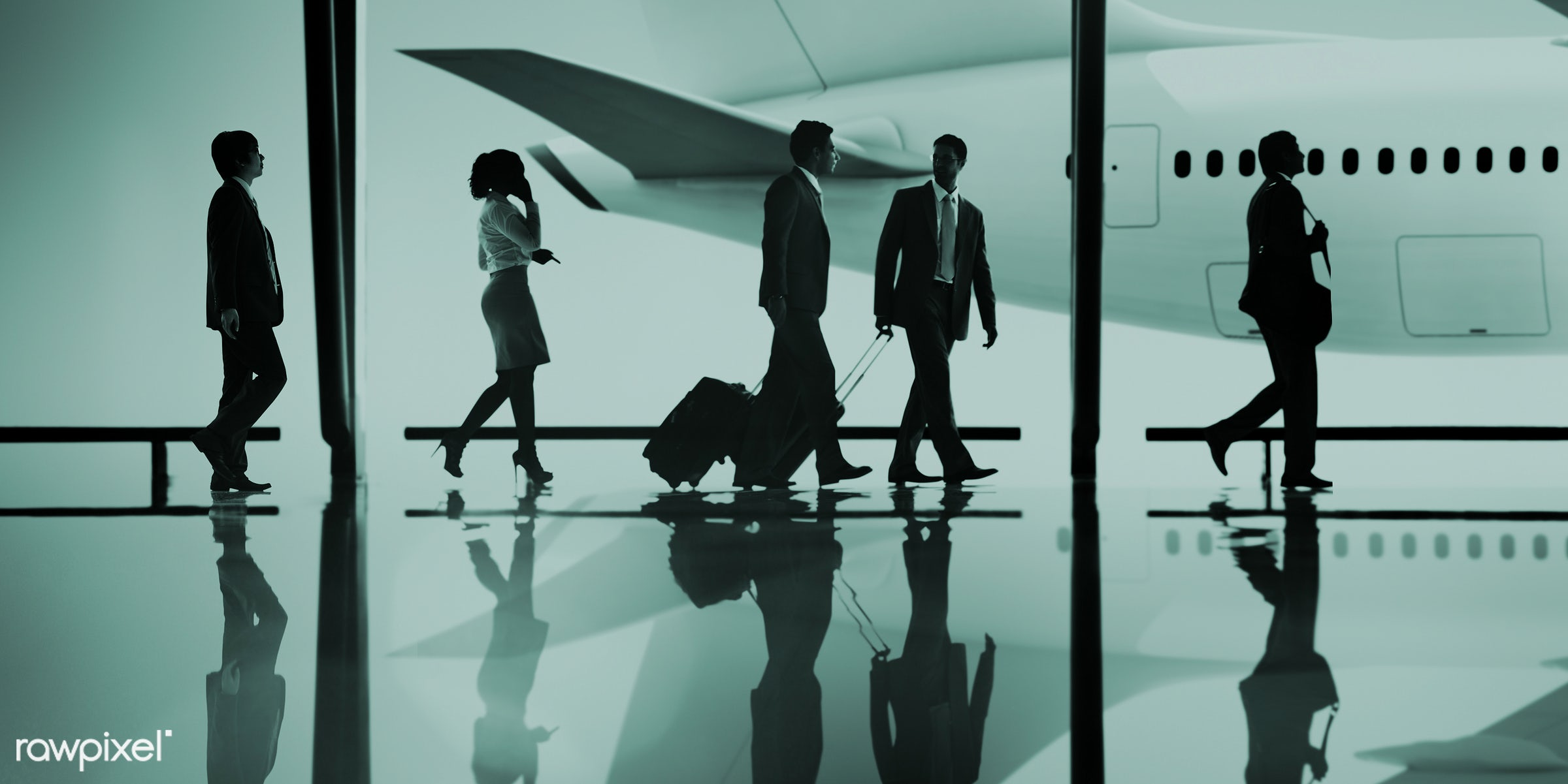aircraft, airplane, airport, arrival, backlit, business, business class, businessmen, businesswomen, busy, communication,...