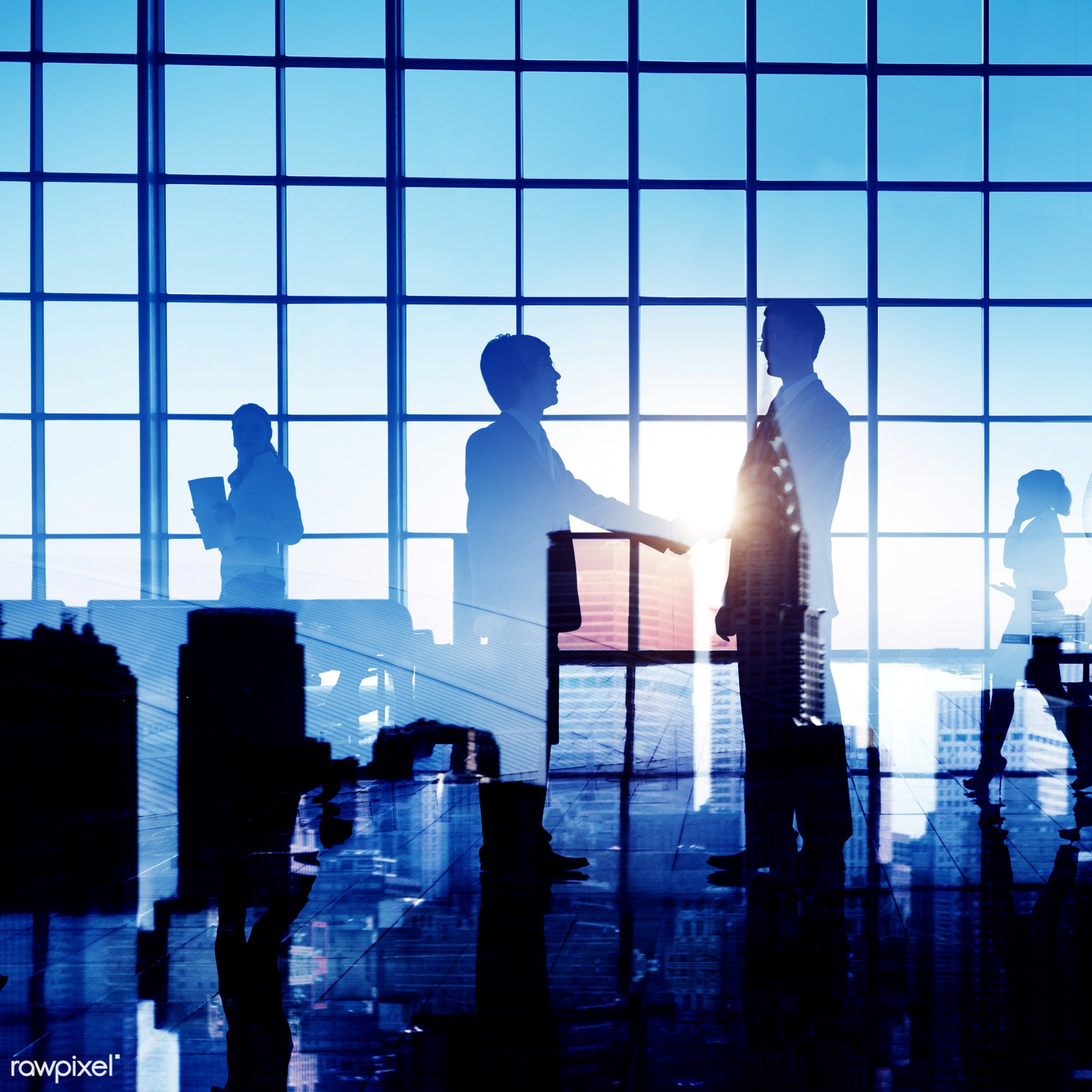 agreement, back lit, boardroom, brainstorming, building, business, business people, businessmen, businesswomen, city, city...