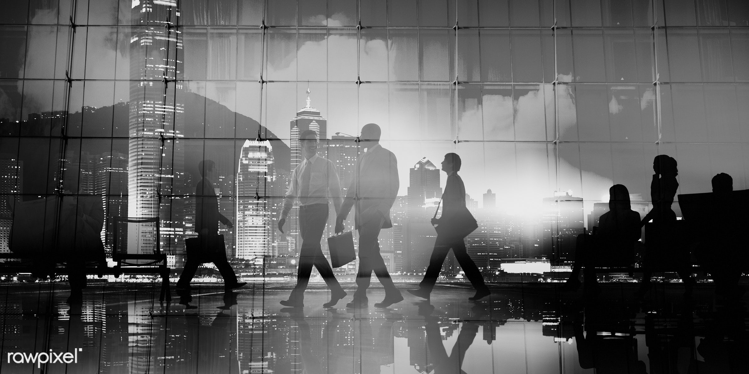 abstract, back lit, buildings, business, business district, business people, businessmen, businesswomen, busy, city, city...