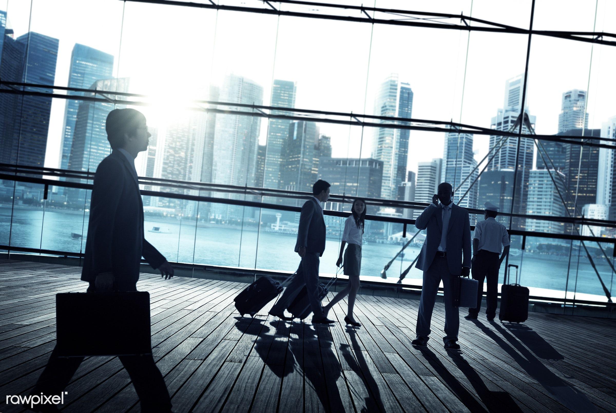 back lit, building, business, business people, businessmen, businesswomen, city, city life, city light, cityscape, colleague...