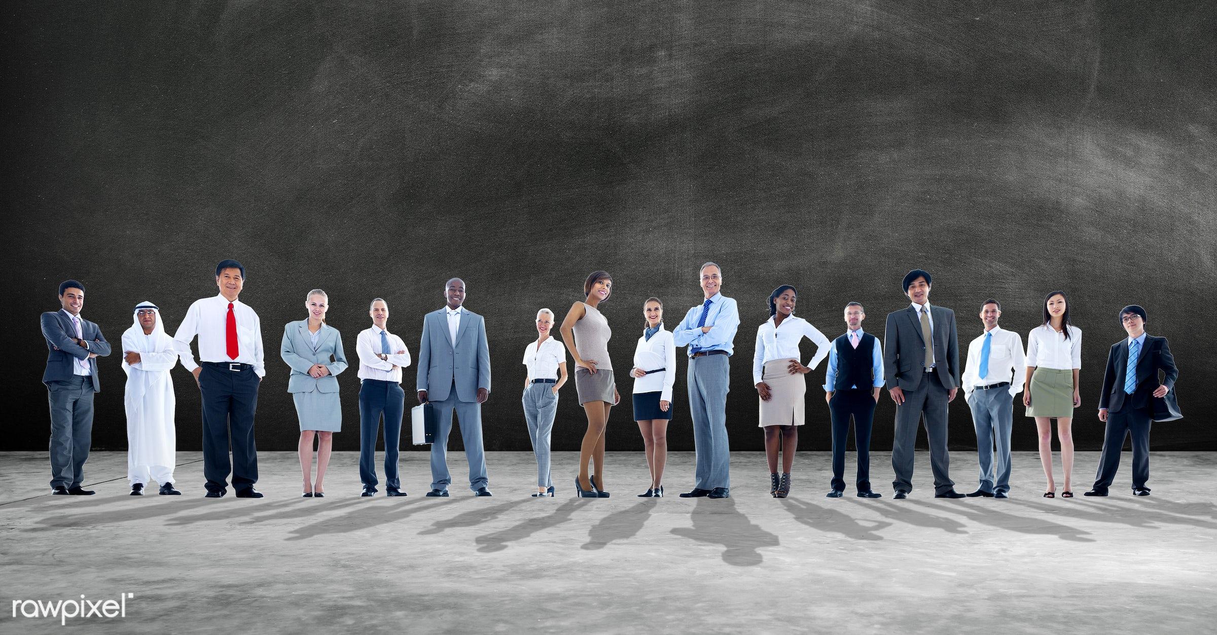 blackboard, business, business people, businessmen, businesswomen, cement, chalkboard, concrete, concrete floor, corporate,...
