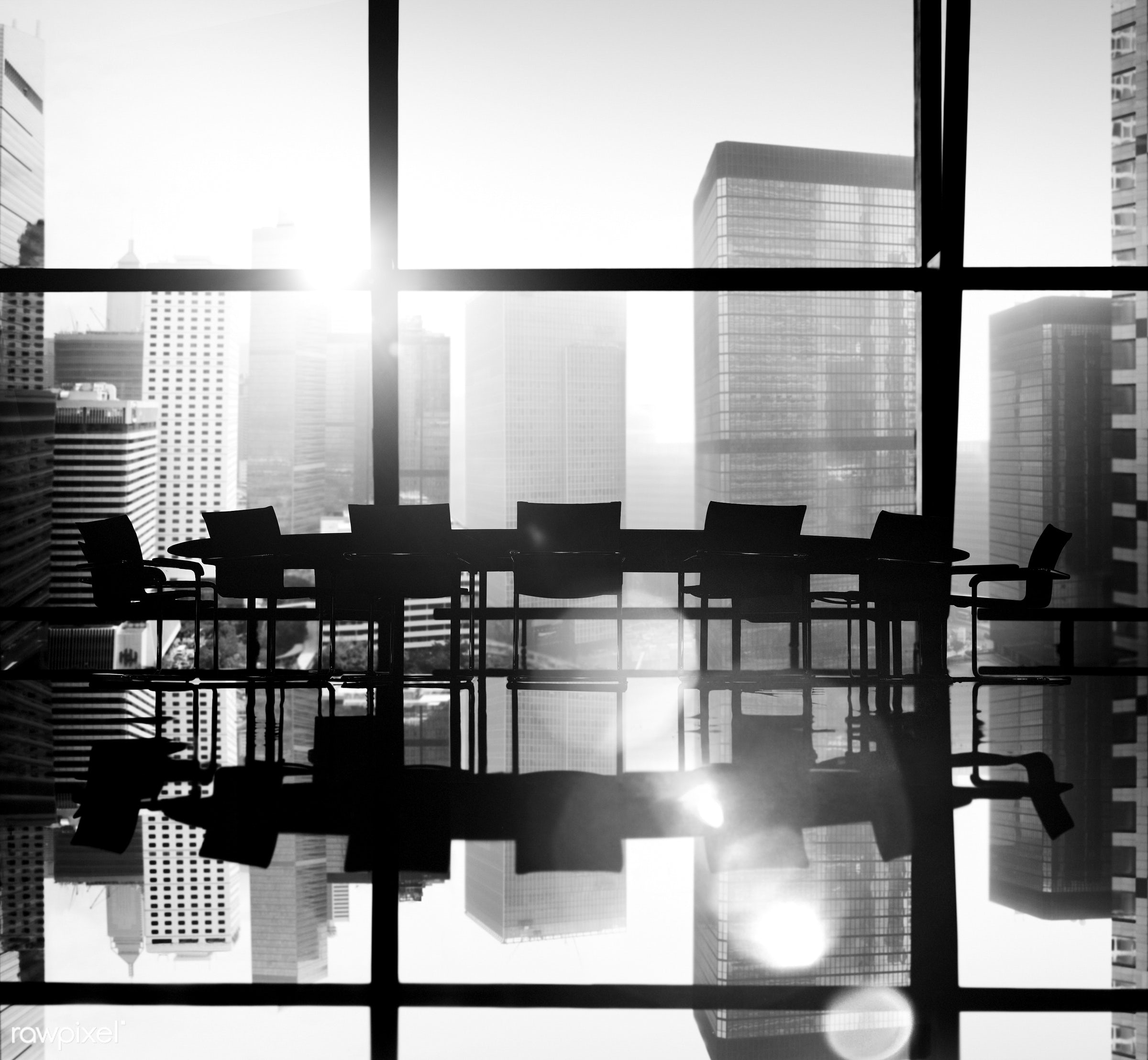back lit, board room, building, business, chair, city, city life, cityscape, conference, conference table, corporate,...