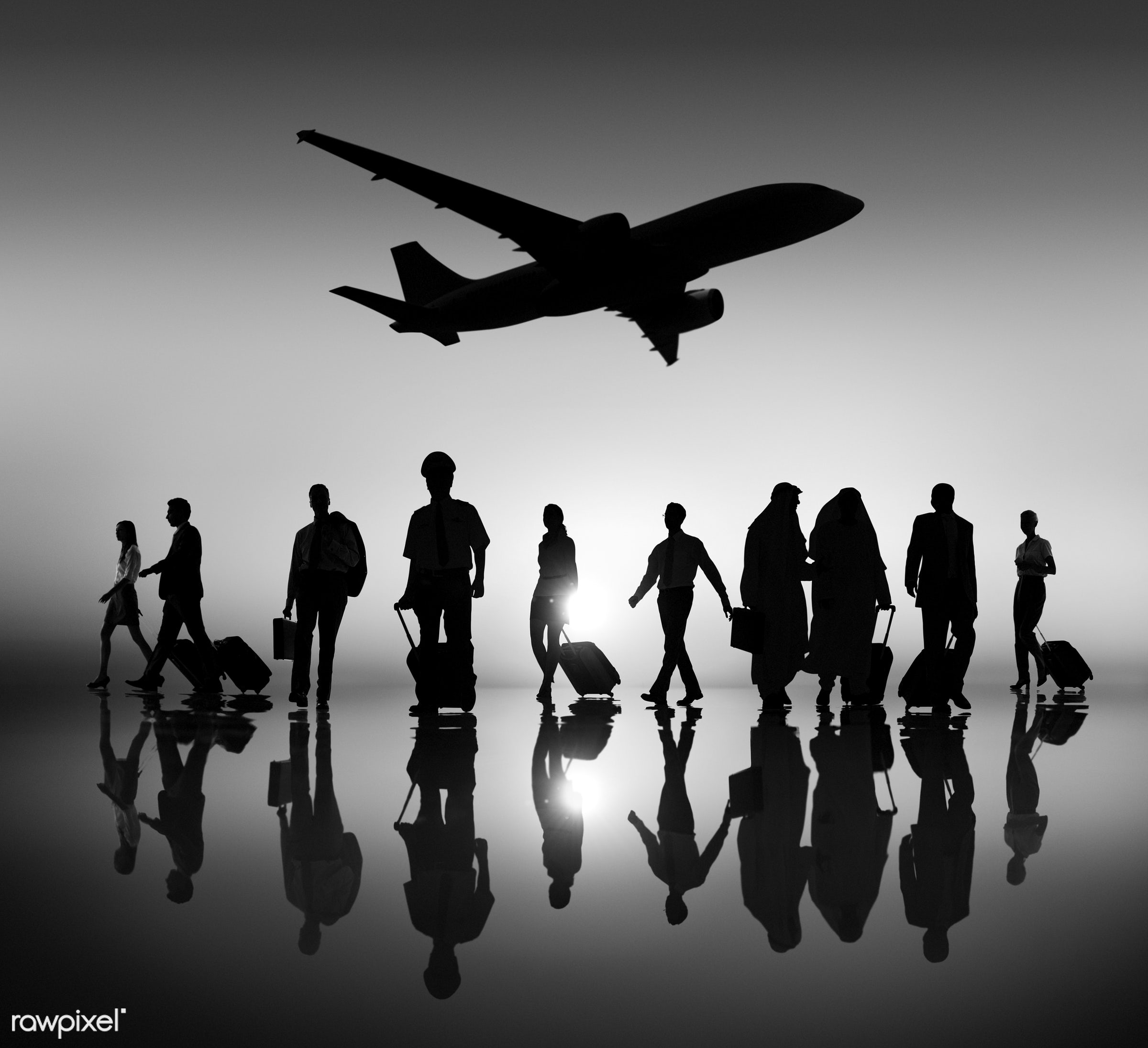 adult, airplane, baggage, business, business people, business person, business travel, businessman, ceo, colleagues,...