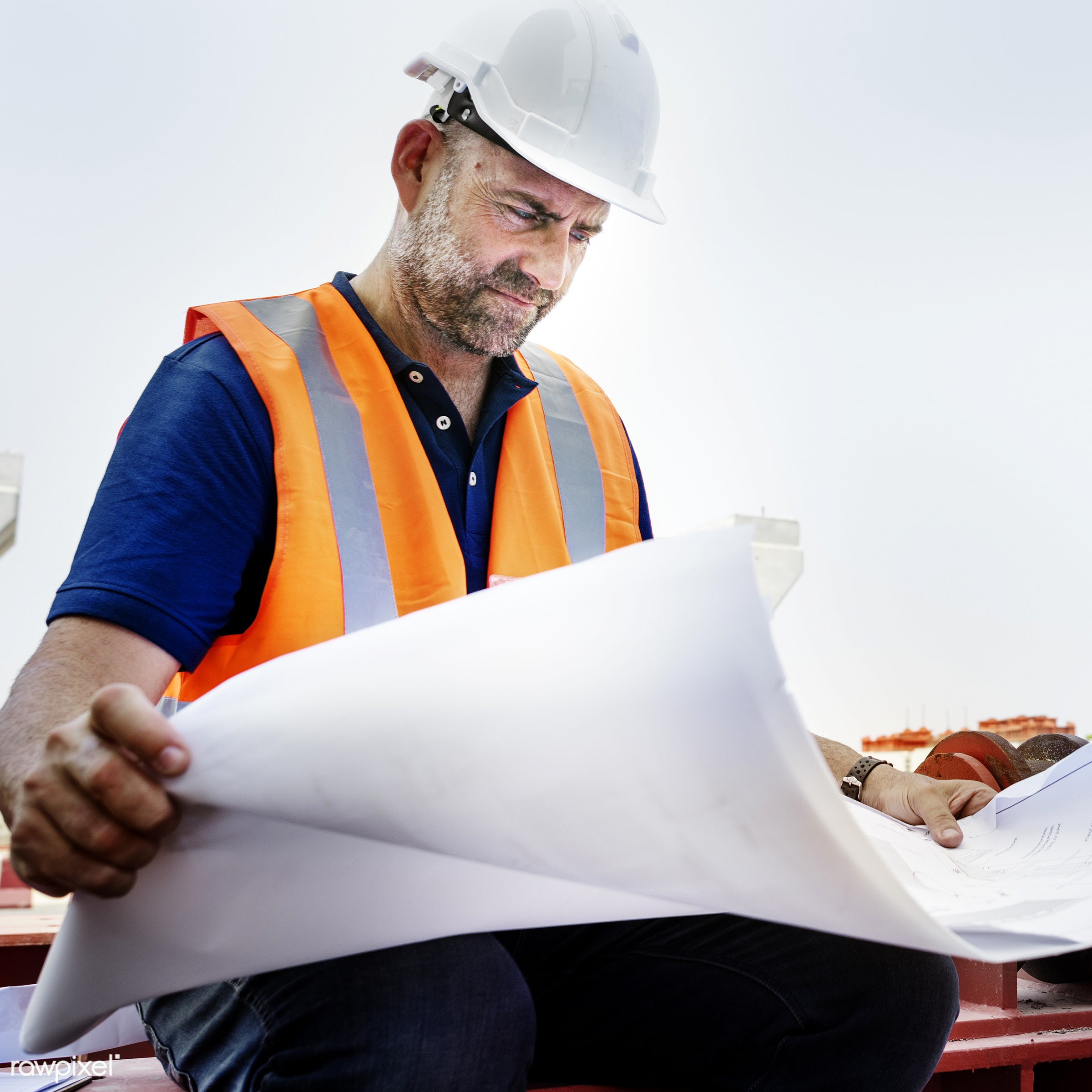 architecture, blueprint, building, built, career, check, construction, construction site, control, engineer, engineering,...