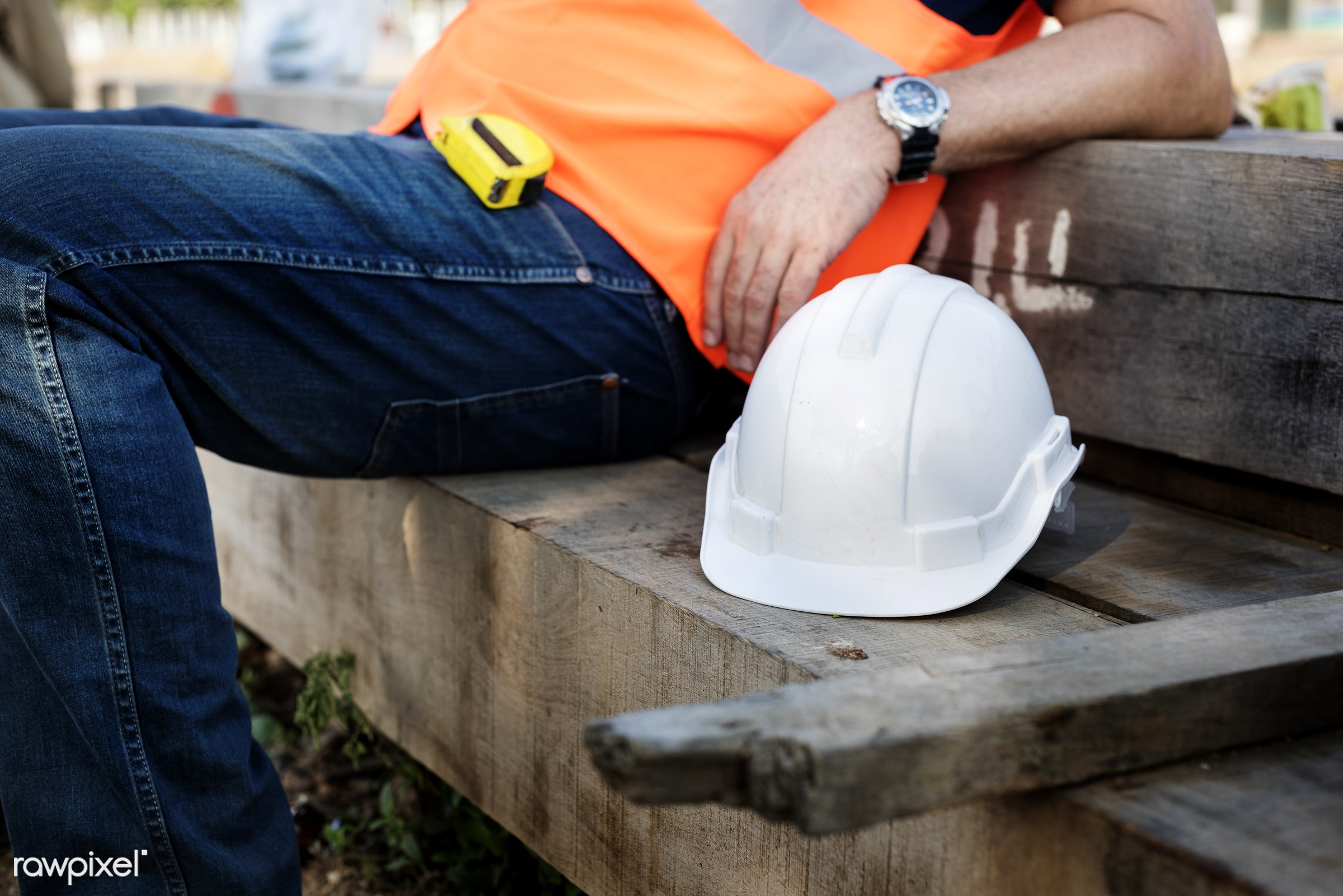 Site engineer on a construction site - worker, construction, engineer, building, built, career, closeup, construction site,...