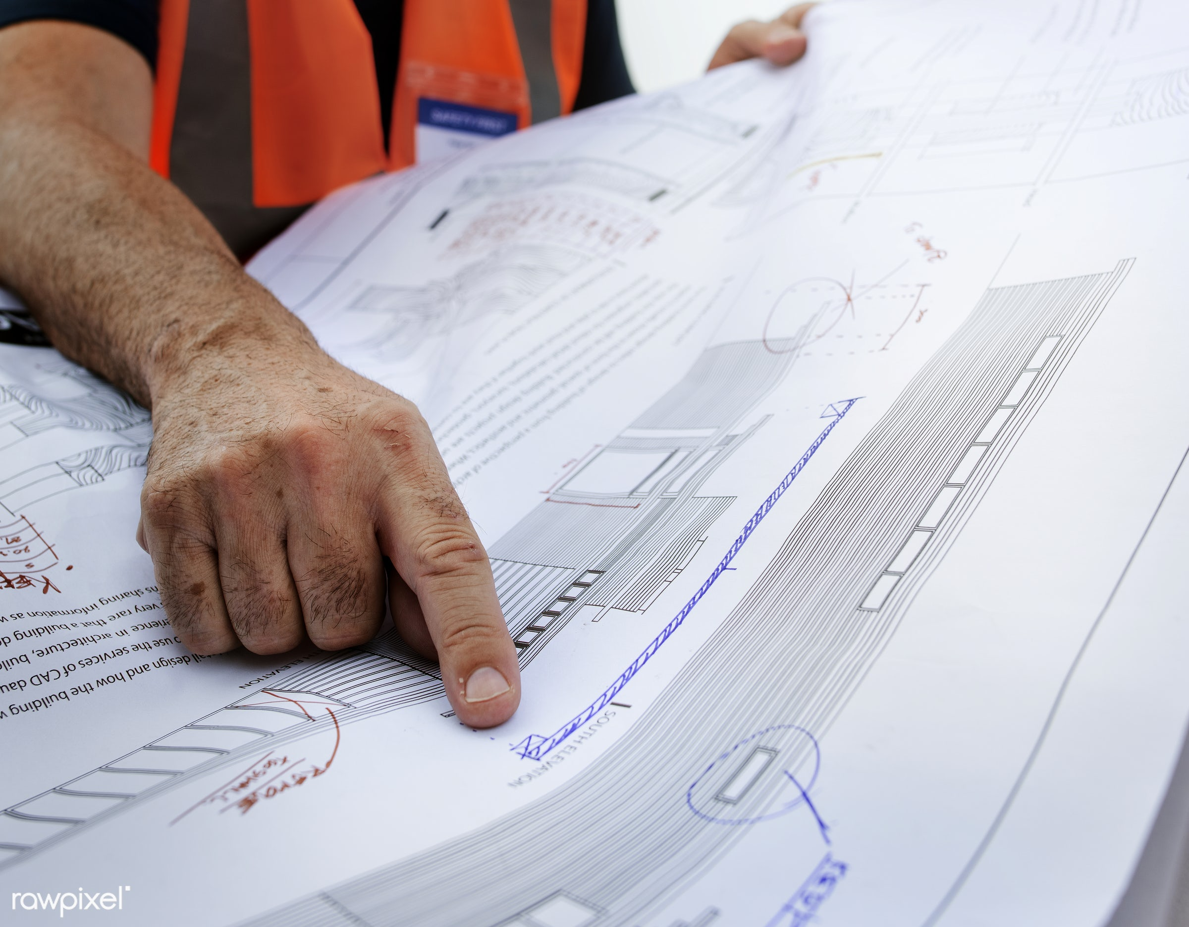 engineering, architecture, blueprint, building, built, career, check, construction, construction site, control, engineer,...