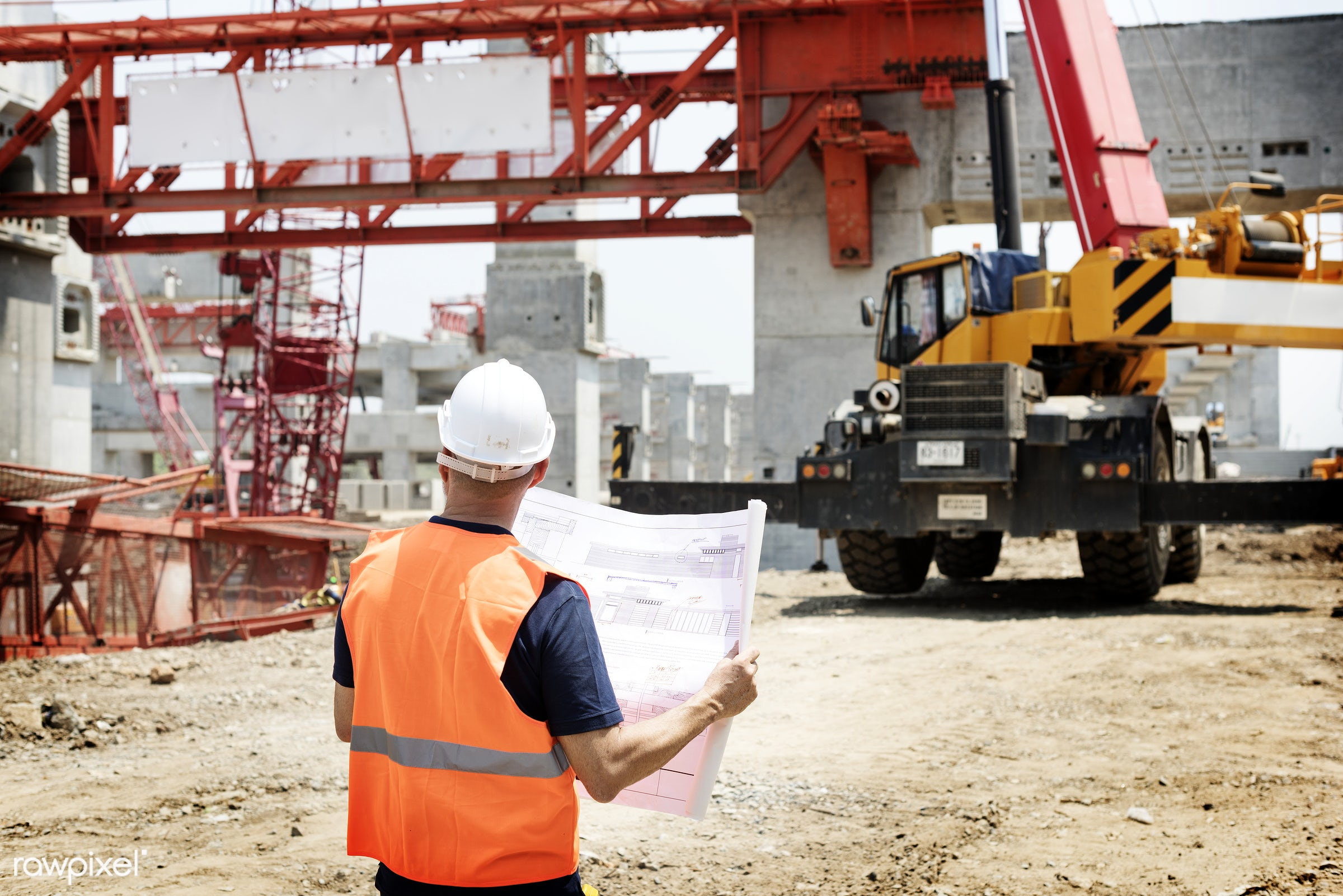construction, architecture, blueprint, building, built, career, check, construction site, control, engineer, engineering,...