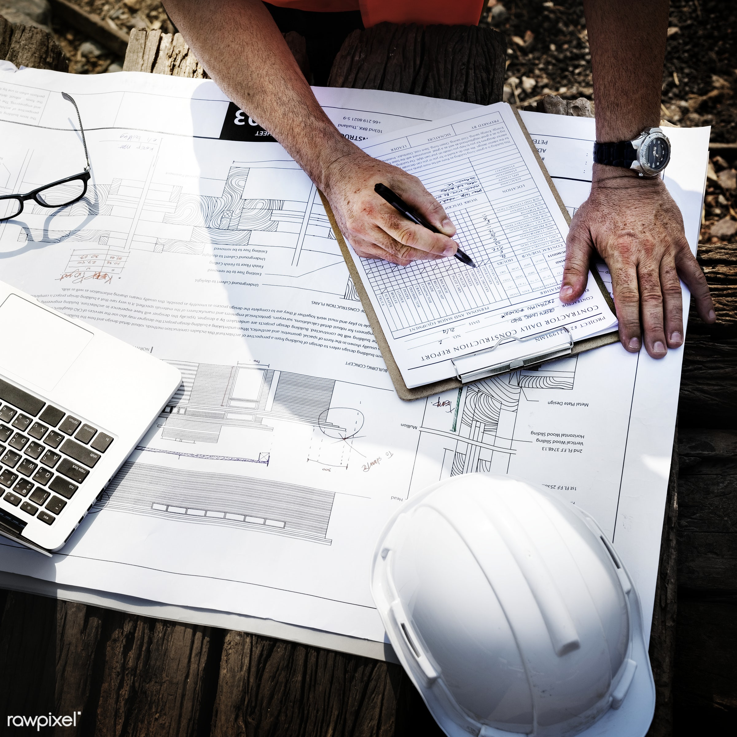 engineer, aerial, architecture, blueprint, building, built, career, check, closeup, computer, construction, construction...