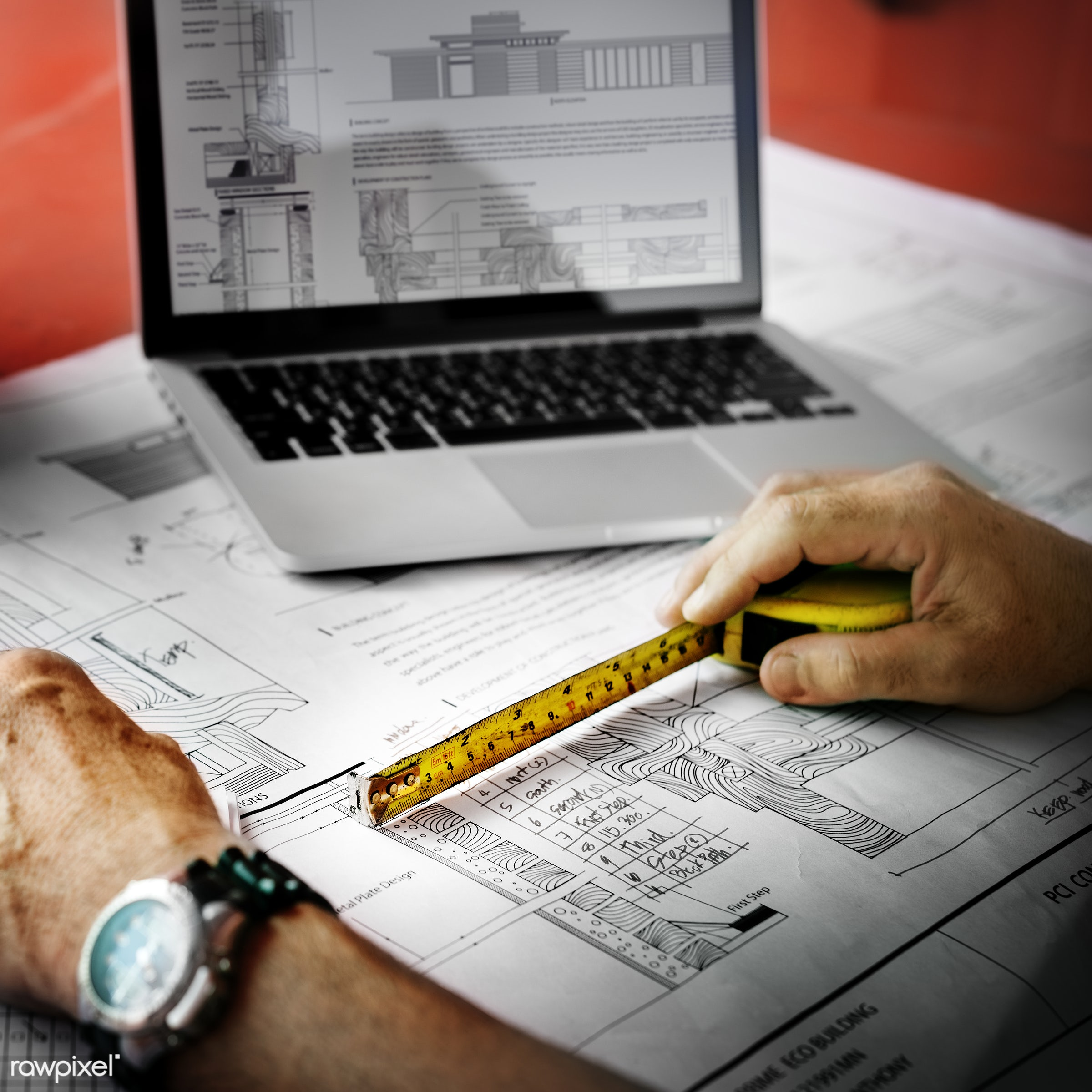 engineer, engineering, aerial, architecture, blueprint, building, built, career, check, closeup, computer, construction,...