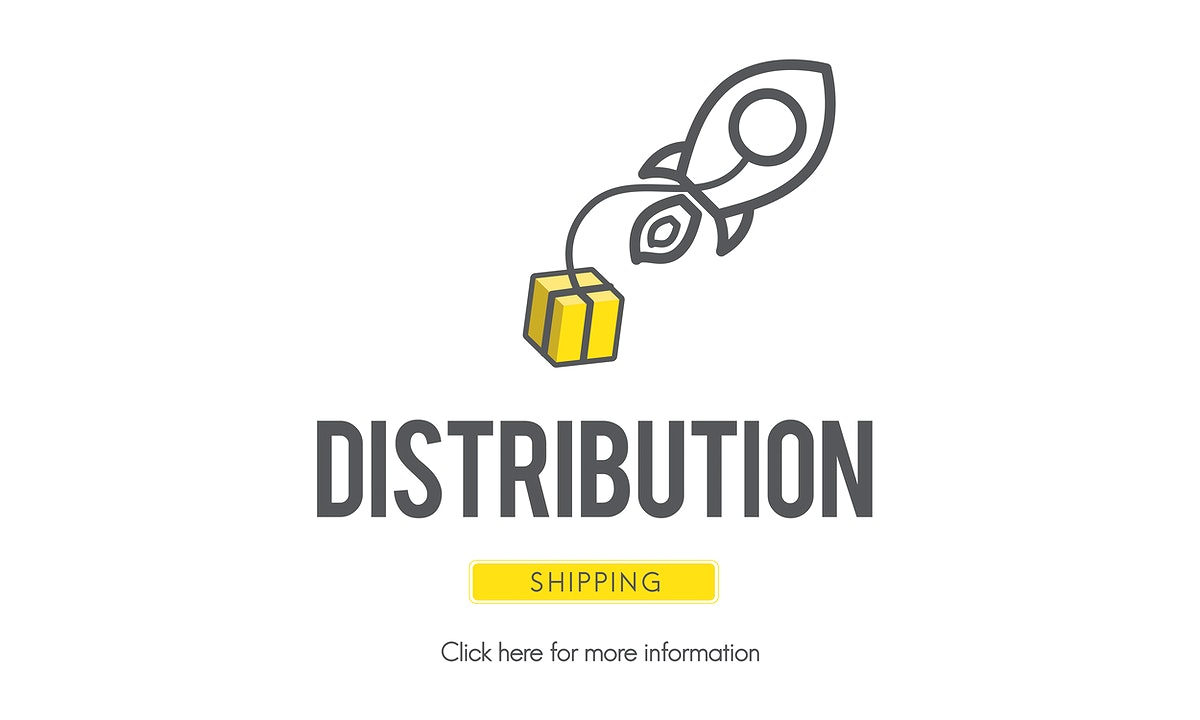 Distribution Logistic Cargo Frieght Manufacturing Concept