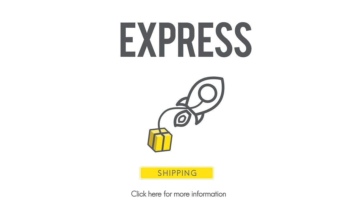 Express Logistic Cargo Frieght Manufacturing Concept