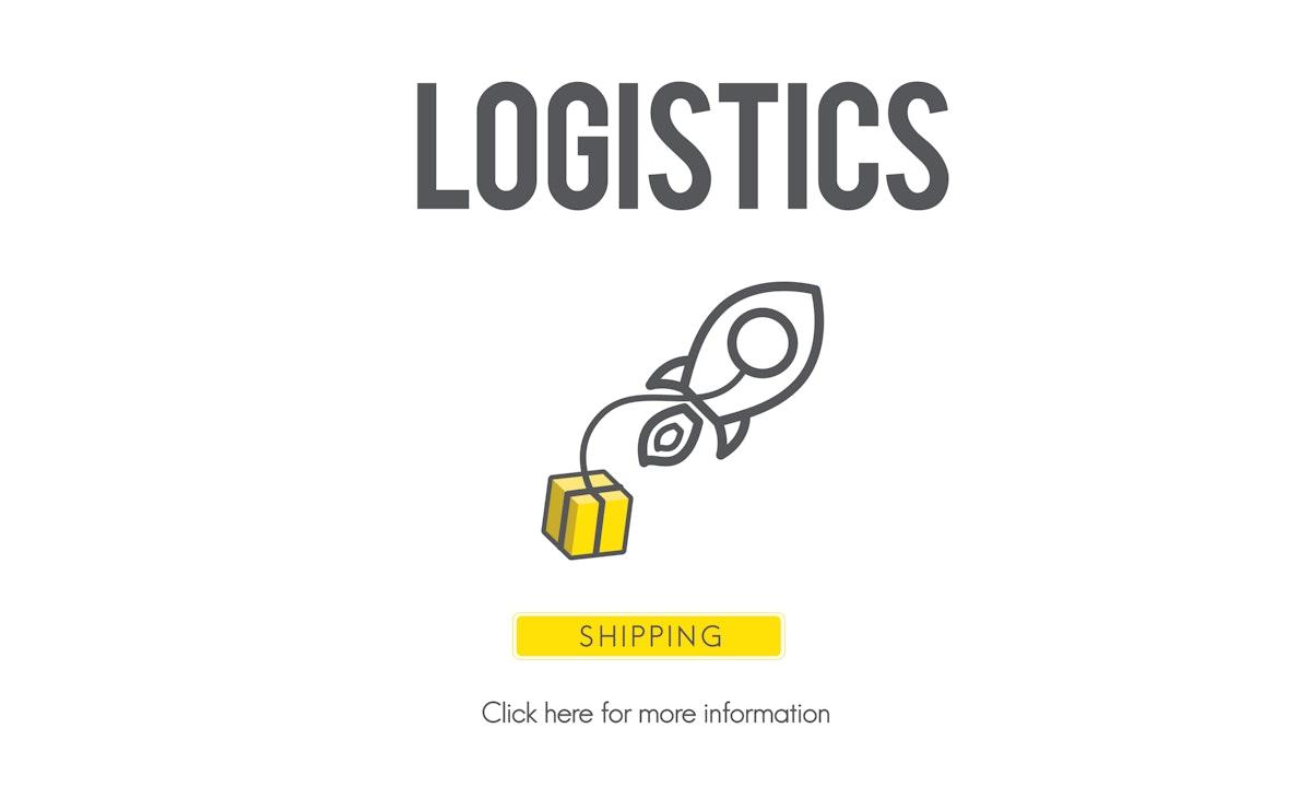 Logistics Distribution Cargo Frieght Manufacturing Concept