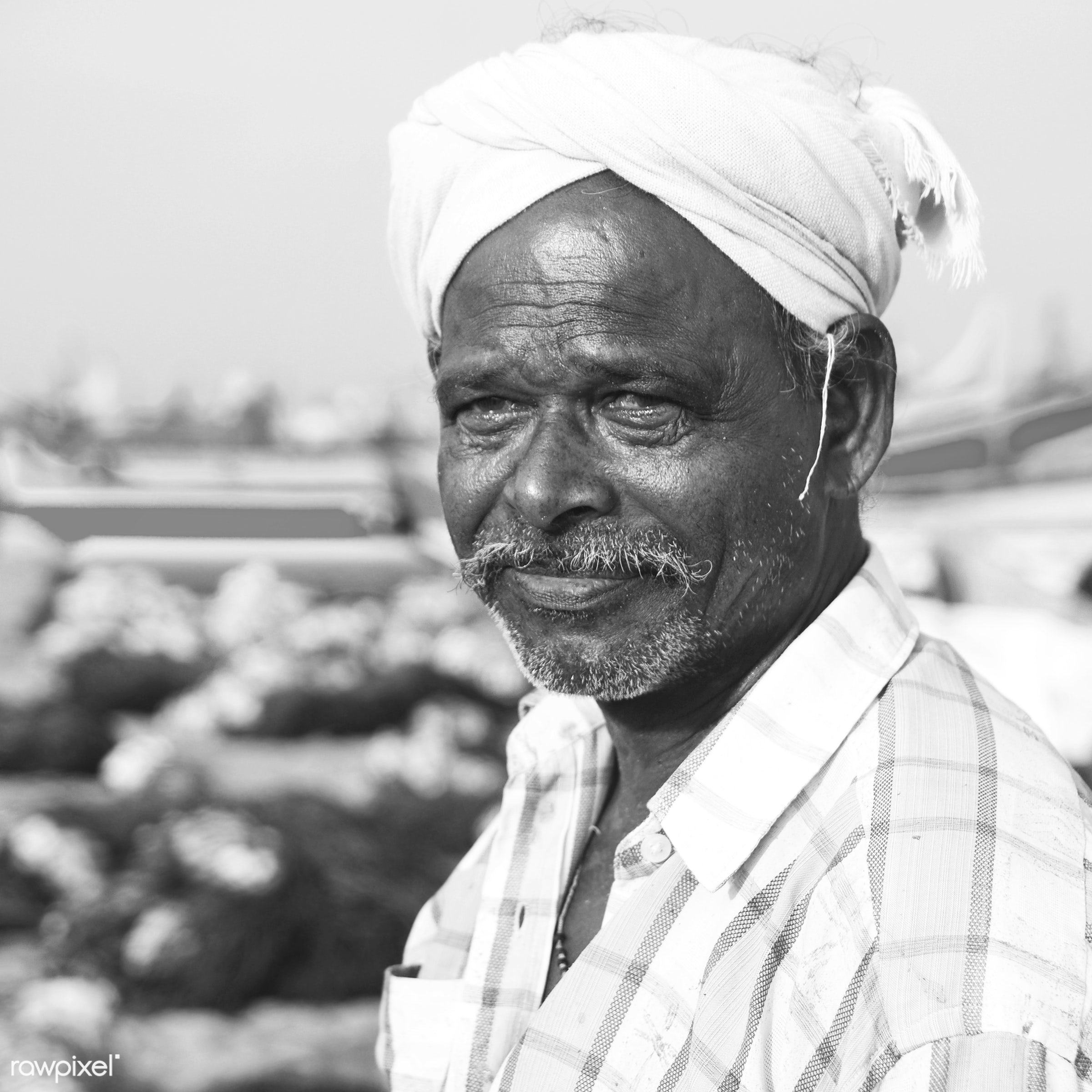 Indian Fisherman Kerela India - asia, asian and indian ethnicities, asian ethnicity, beach, characters, close-up, concepts...