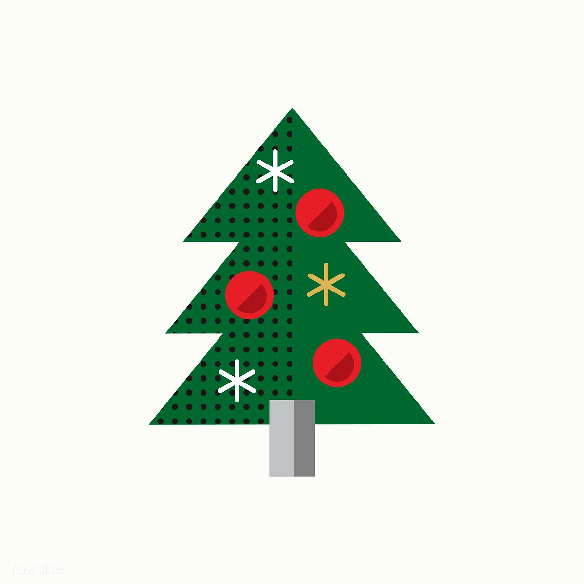 Christmas Tree Icon.Christmas Tree Icon Vector Free Stock Illustration 280825