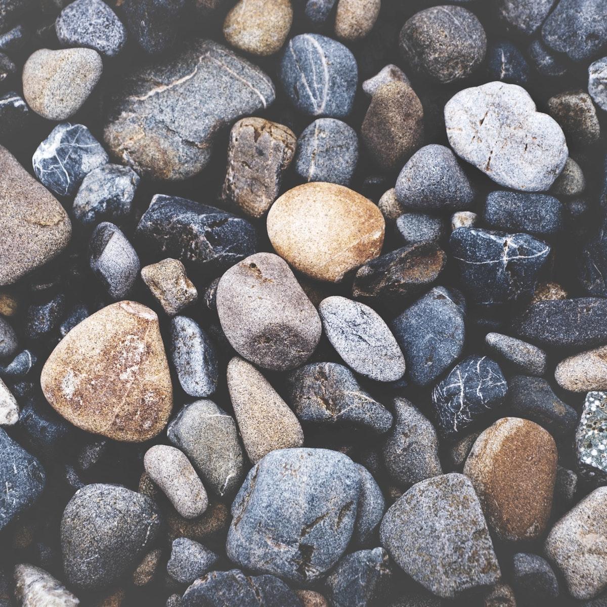 Rocks pattern closeup about textured