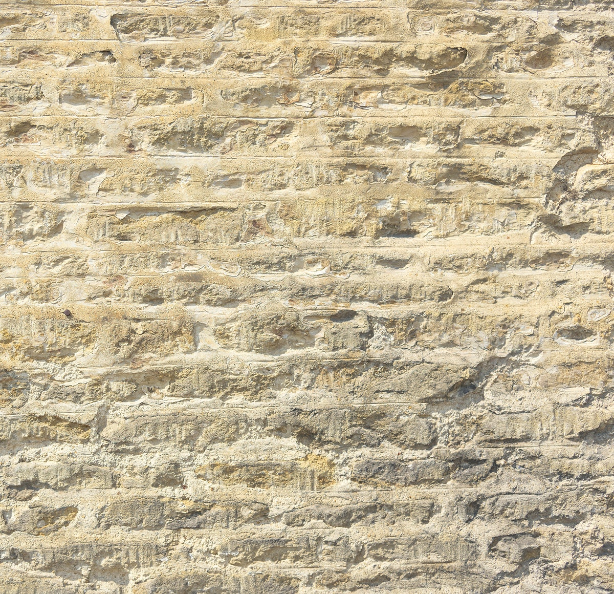 Rough textured wall