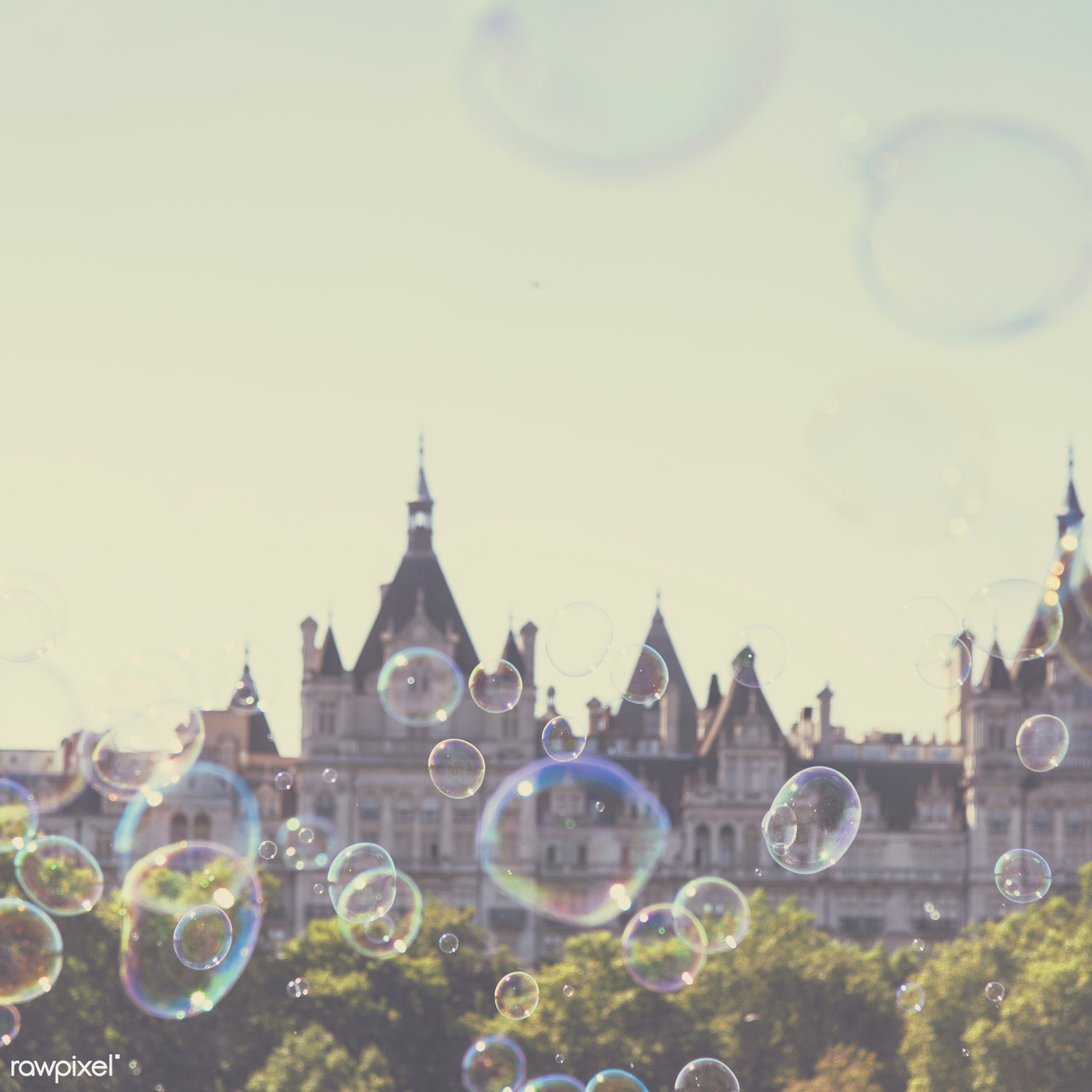 air, architecture, background, ball, blowing, building, circle, city, colorful, day, england, europe, european, fantasy,...