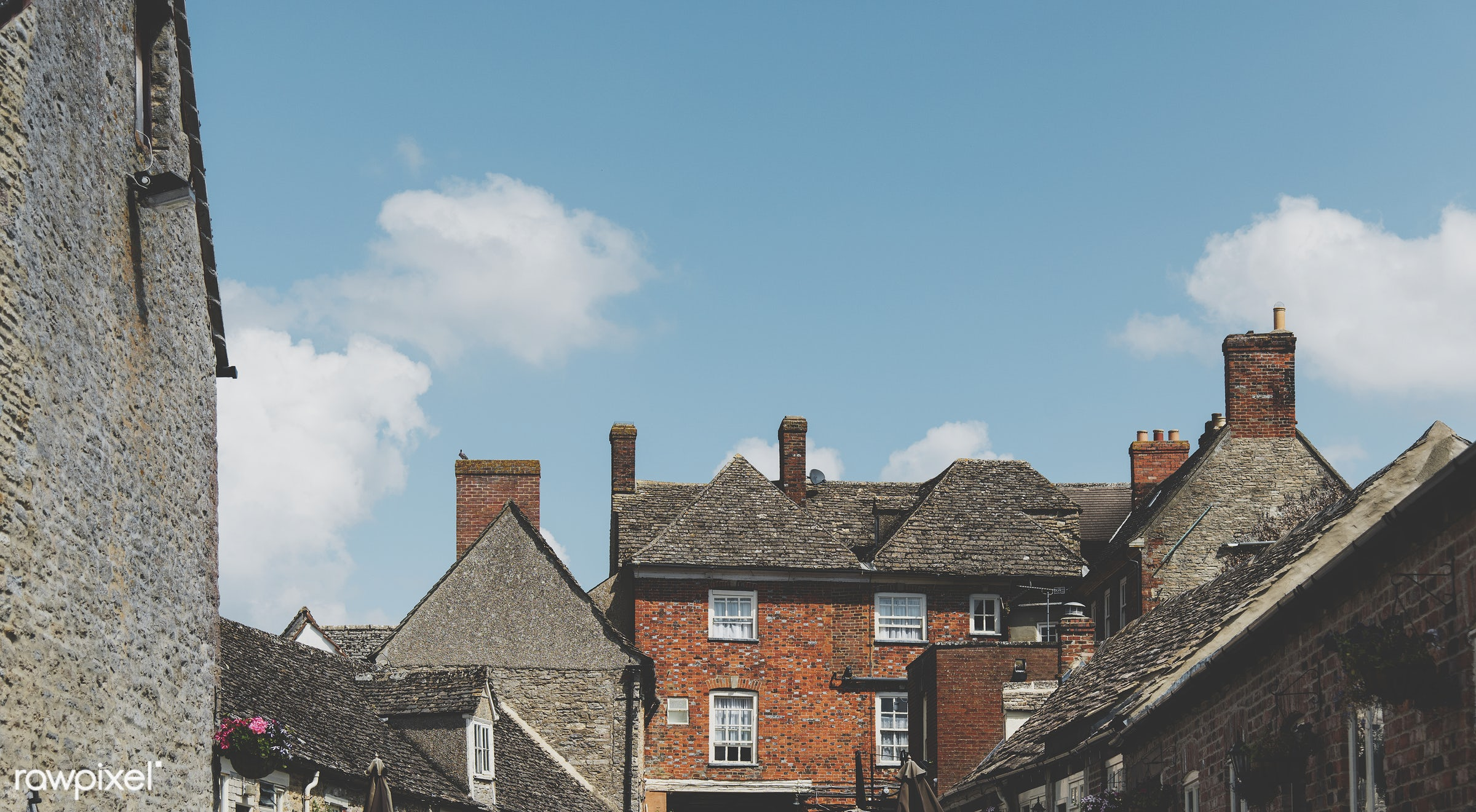 Residential house - accommodation, architecture, british, building, cement, city, community, construction, culture, decor,...