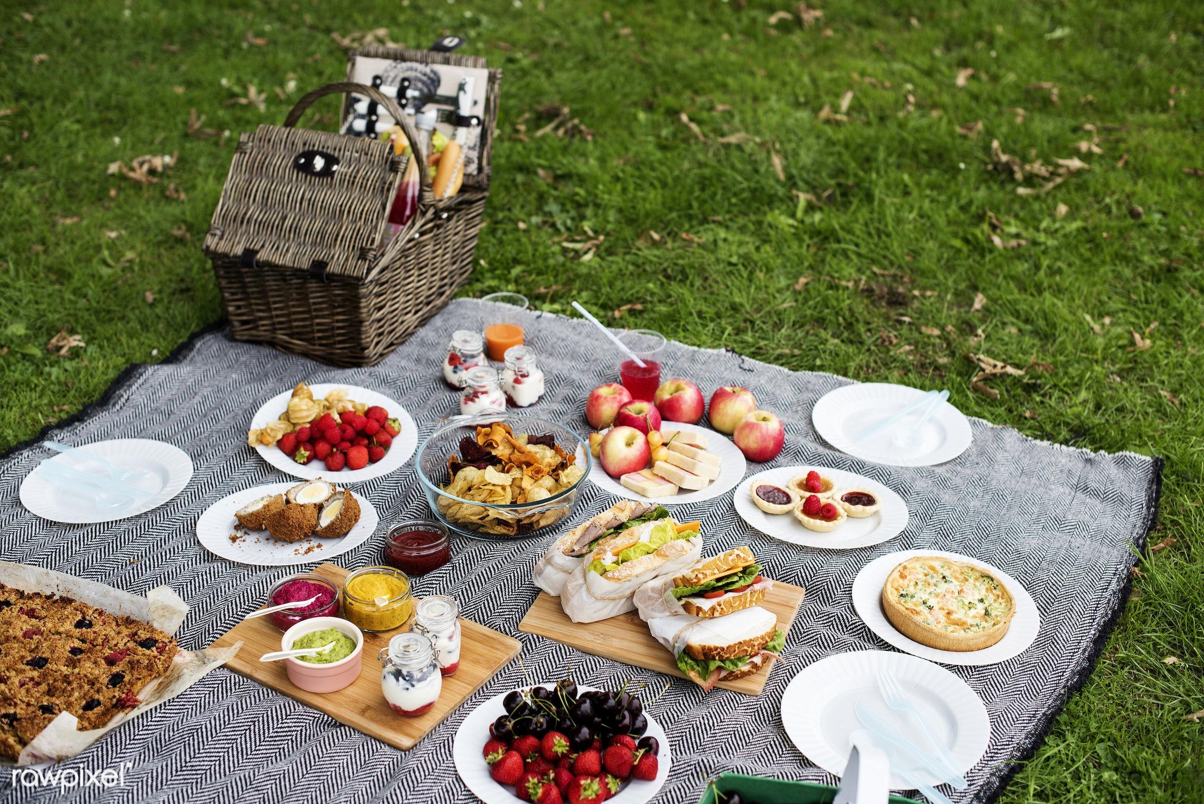 apple, basket, cherry, chips, dessert, drinks, environment, environmental, field, food, fruit, garden, grass, holiday,...