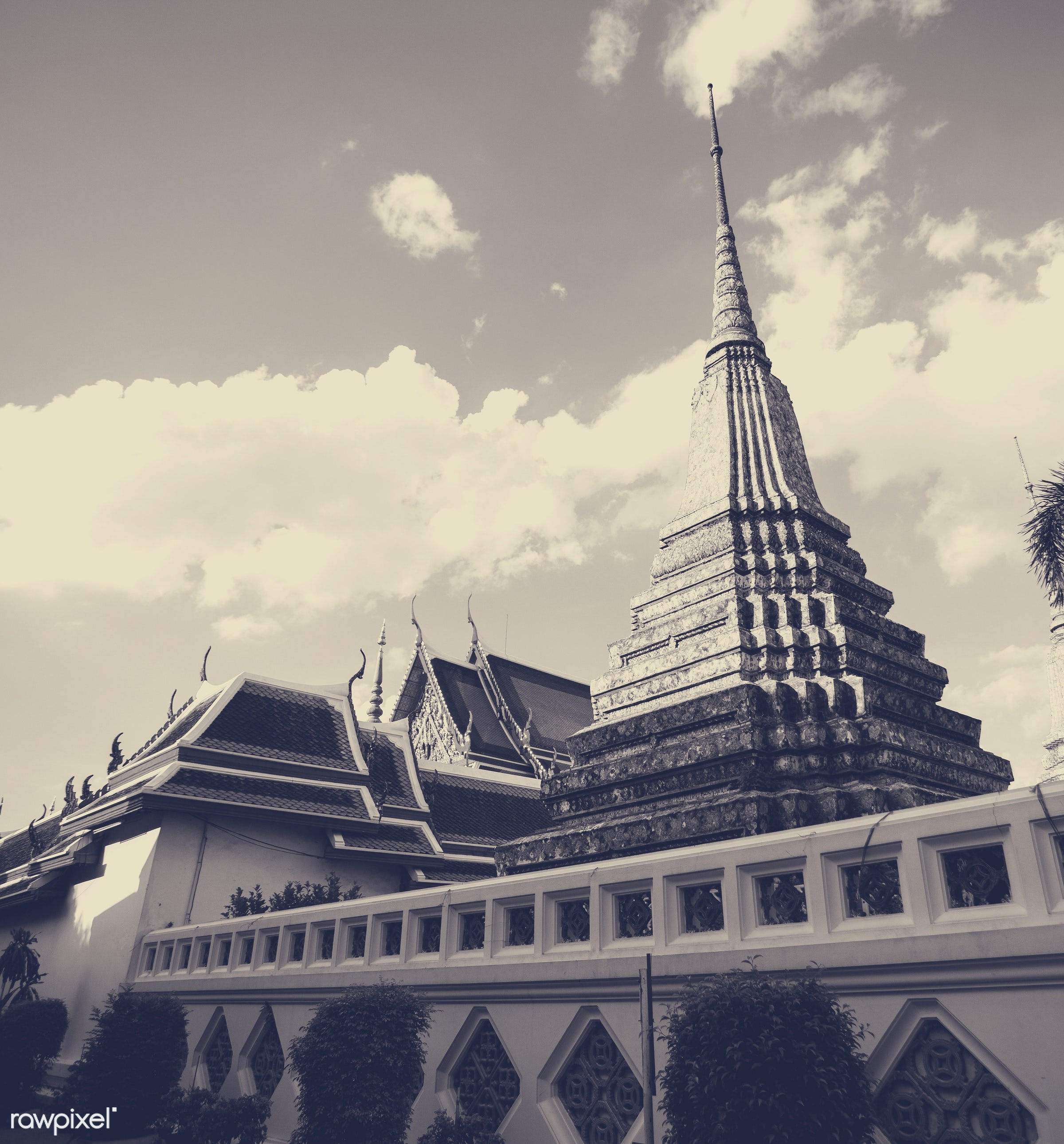 temple, thailand, architecture, asia, asian, buddhism, buddhist, building, faith, holiness, holy, nobody, pagoda, peaceful,...
