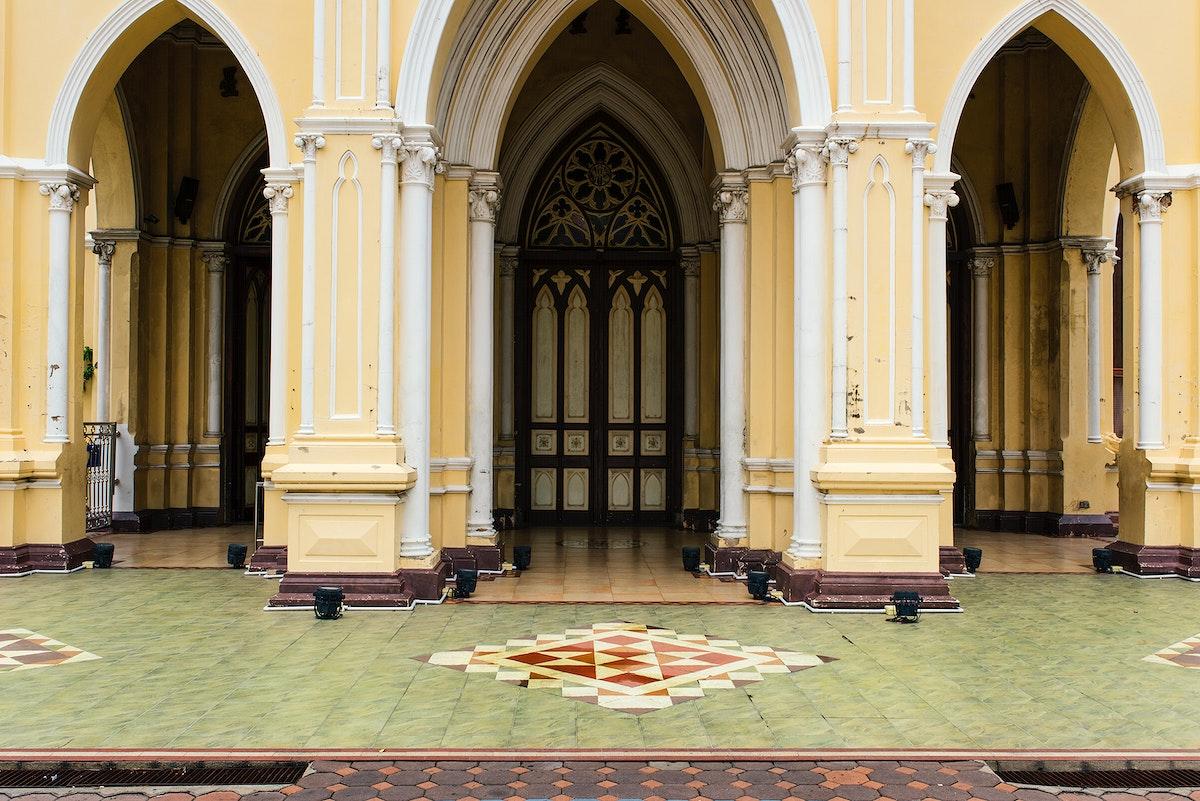 Old church architecture design