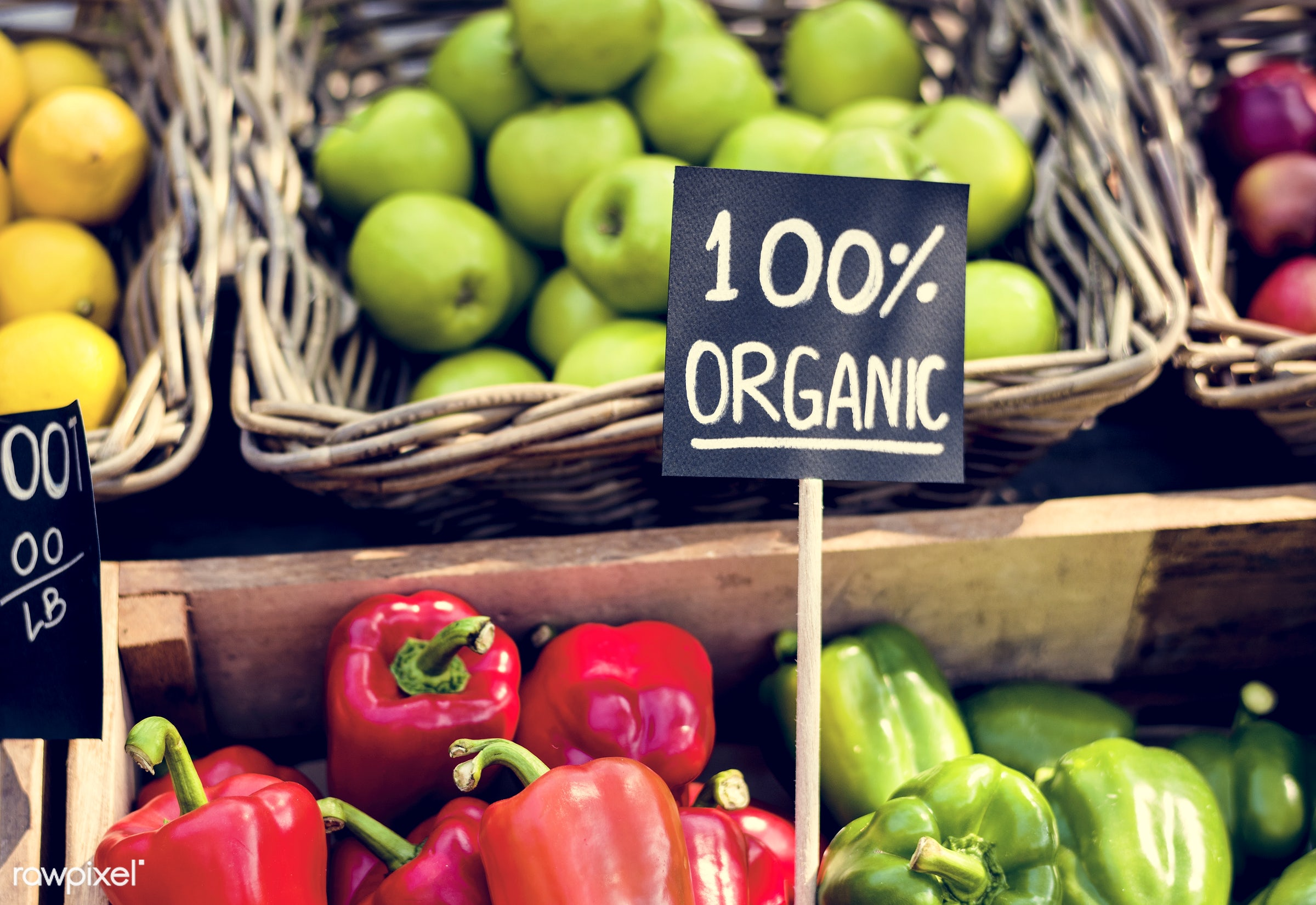grocery, shop, nutritious, store, bell pepper, farmer, fresh, healthy eating, marketplace, banner, fruit, agriculture,...