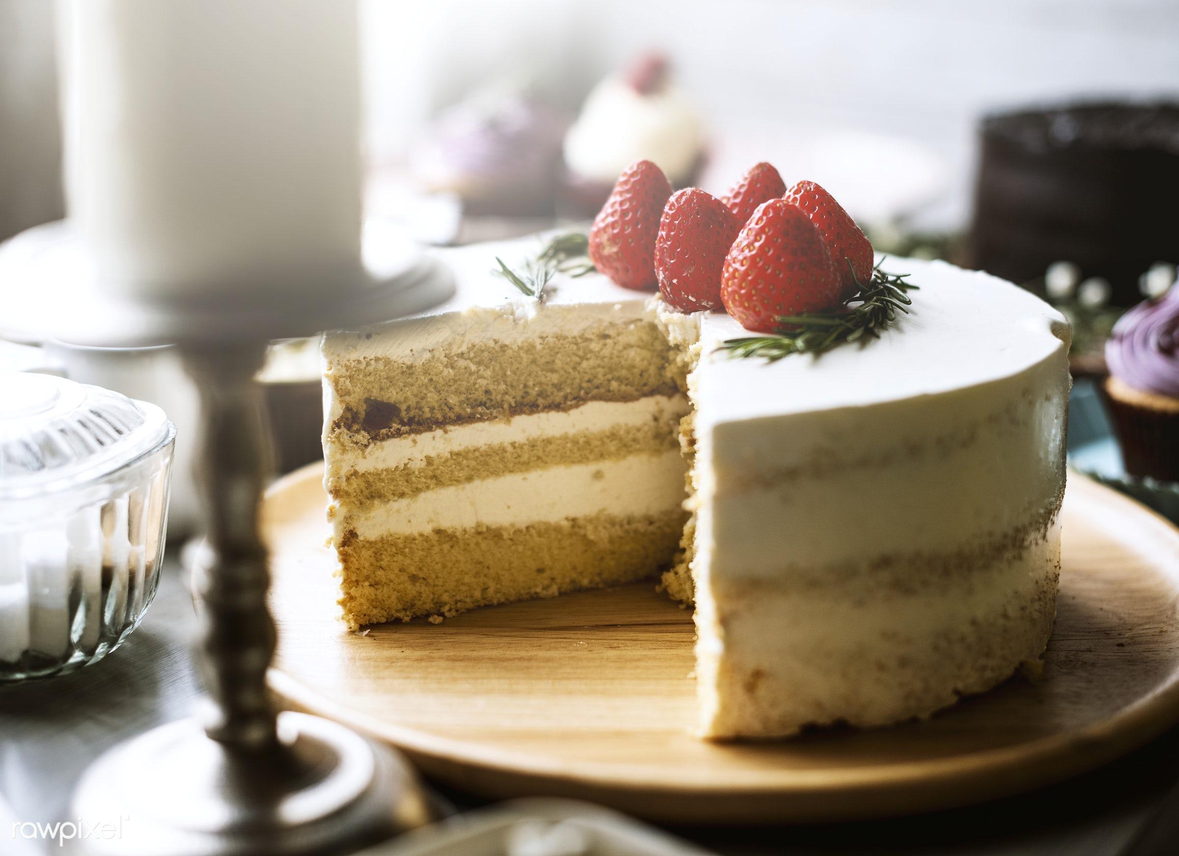 sweet, food, strawberry, bake, baked, bakery, birthday, break, cake, cakes, catering, celebrate, celebration, cream, cut,...