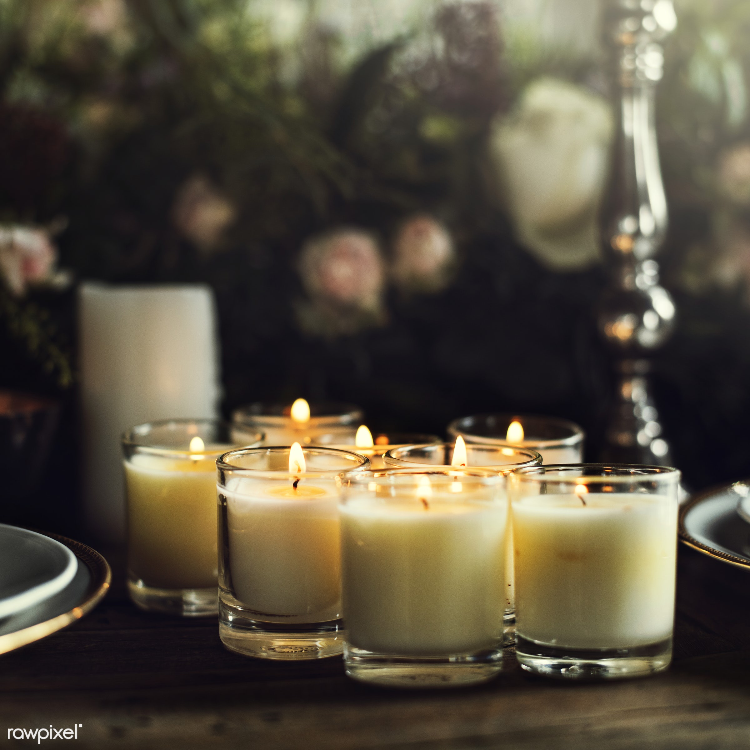 nobody, fancy, catering, set, silverware, restaurant, party, setting, tablecloth, dining table, event, candles, banquet,...