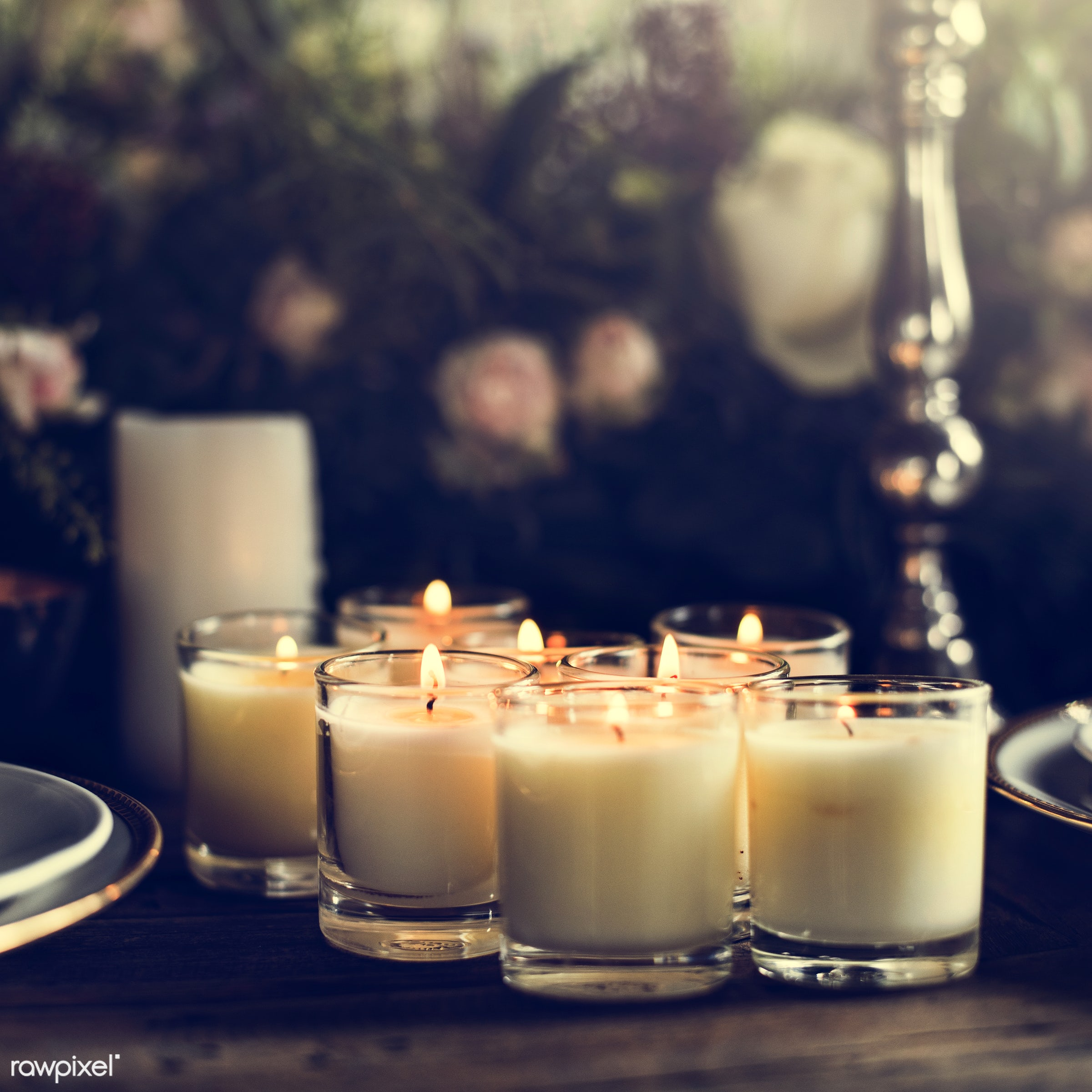 nobody, fancy, catering, set, silverware, party, restaurant, setting, dining table, tablecloth, event, candles, banquet,...